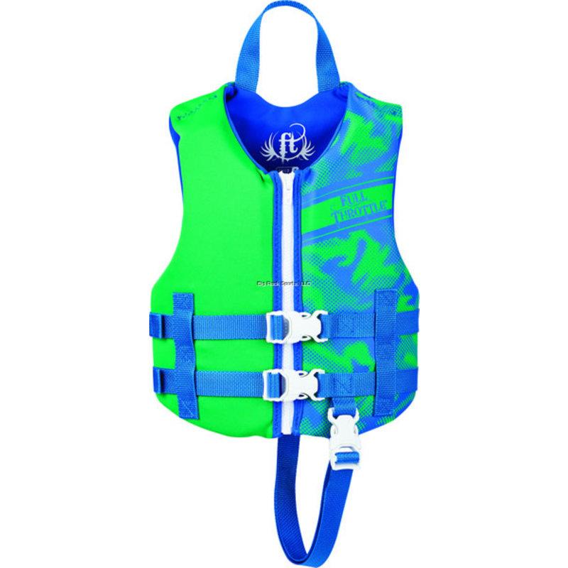 Full Throttle Full Throttle Child Rapid-Dry Life Jacket (30-50lbs)