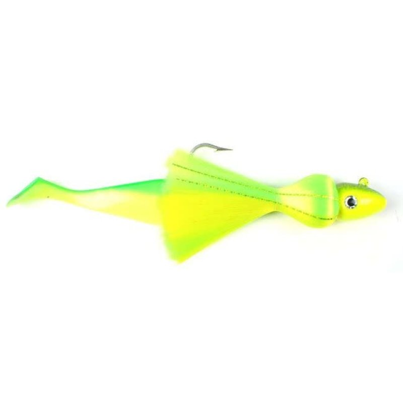 """S&S Bucktails S&S Bucktails - Rattling Mo' Rigged w/9"""" Shad"""