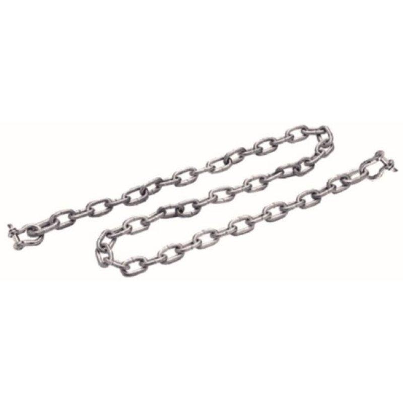 Seachoice Products SeaChoice Galvanized Anchor Chain w/Shackle