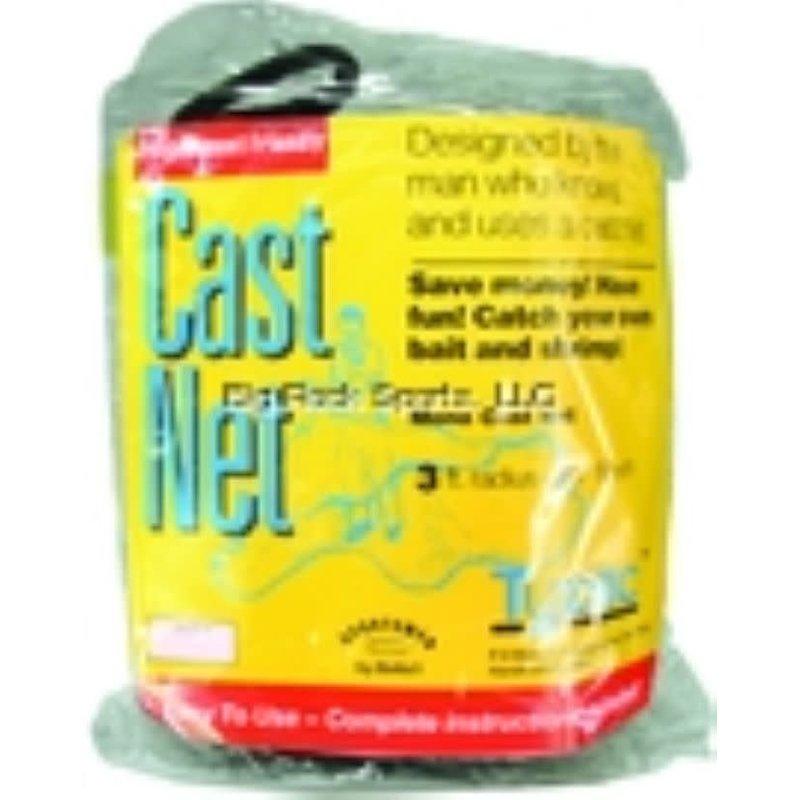 """Betts Betts Tyzac Cast Net 3/8"""" Mesh 3/4lb Iron Weights per FT"""