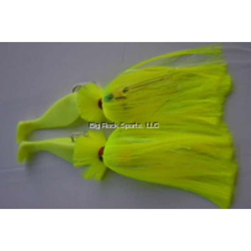 """Blue Water Candy Blue Water Candy Tandem Parachute Rigs Loaded w/9"""" Shad"""