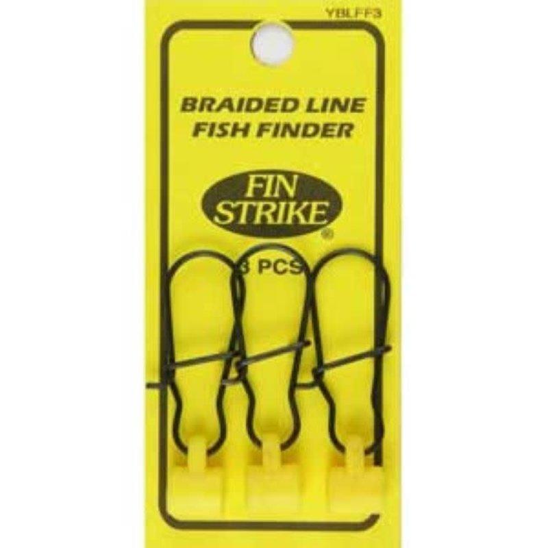 Fin Strike Fin Strike YBLFF3 Braided Line Fishfinders 3pk