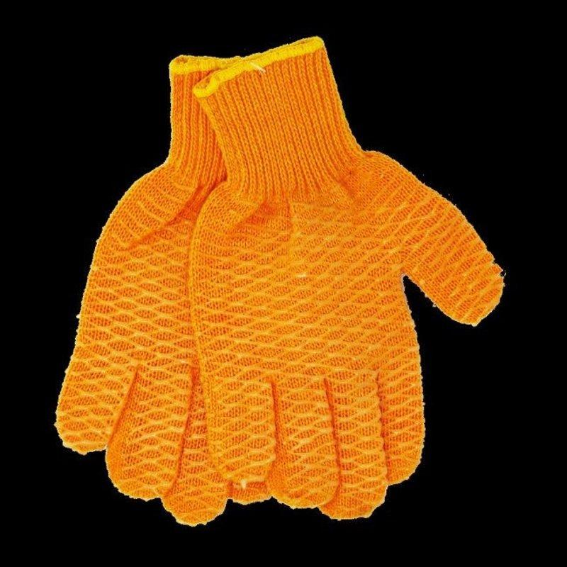 danco Grippin' Orange Fishing Gloves - Size L