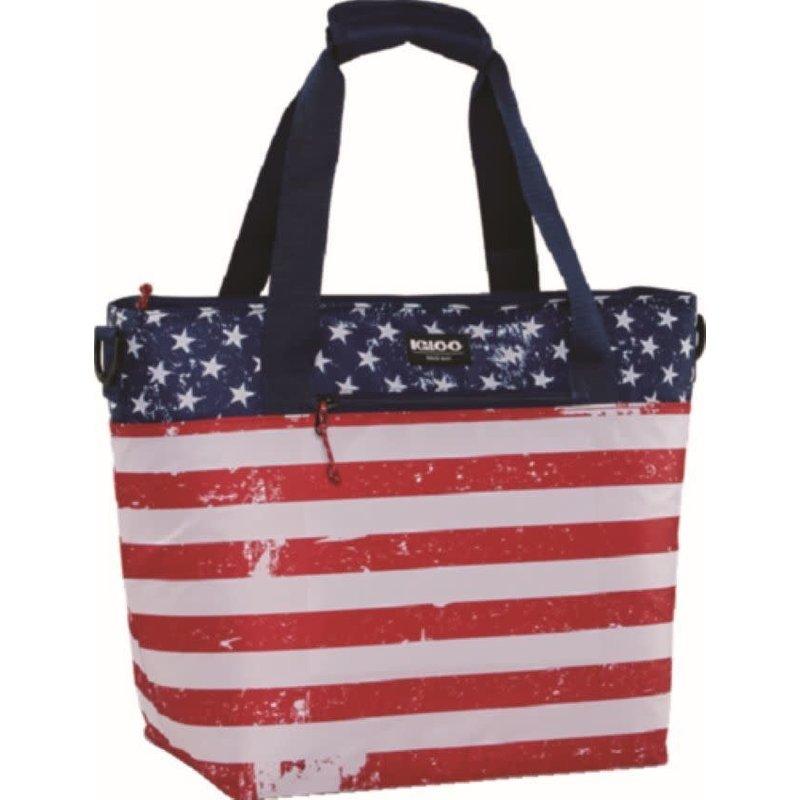 Igloo Igloo MaxCold Americana Insulated Tote Bag 30 Can Capacity