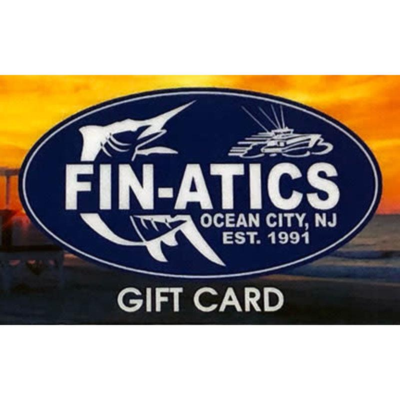 Fin-atics $25 FIN-ATICS  Gift Card