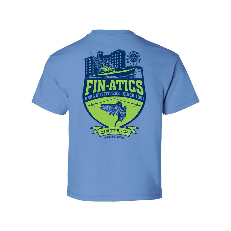 Fin-atics Fin-atics Reel Outfitters YOUTH Short Sleeve T-Shirt