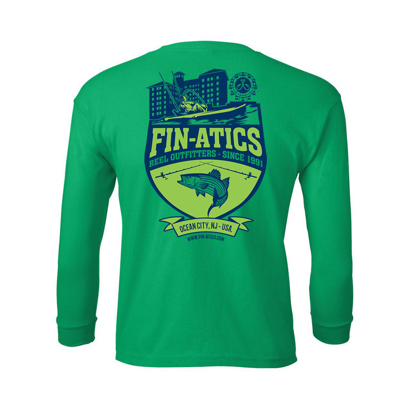 Fin-atics Fin-atics Reel Outfitters YOUTH Long Sleeve T-Shirt