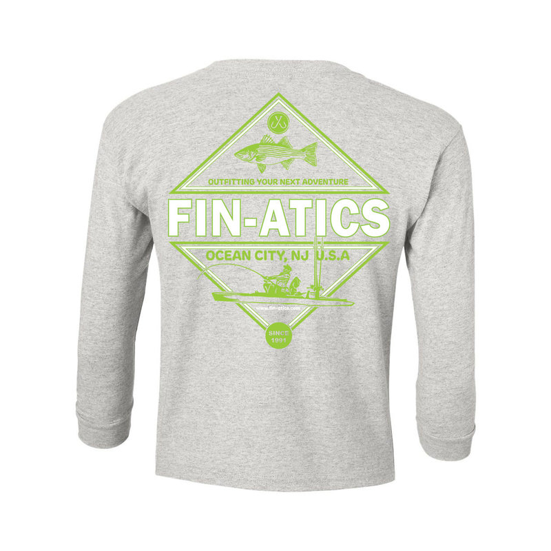 Fin-atics Fin-atics Adventure Outfitter YOUTH Long Sleeve T-Shirt