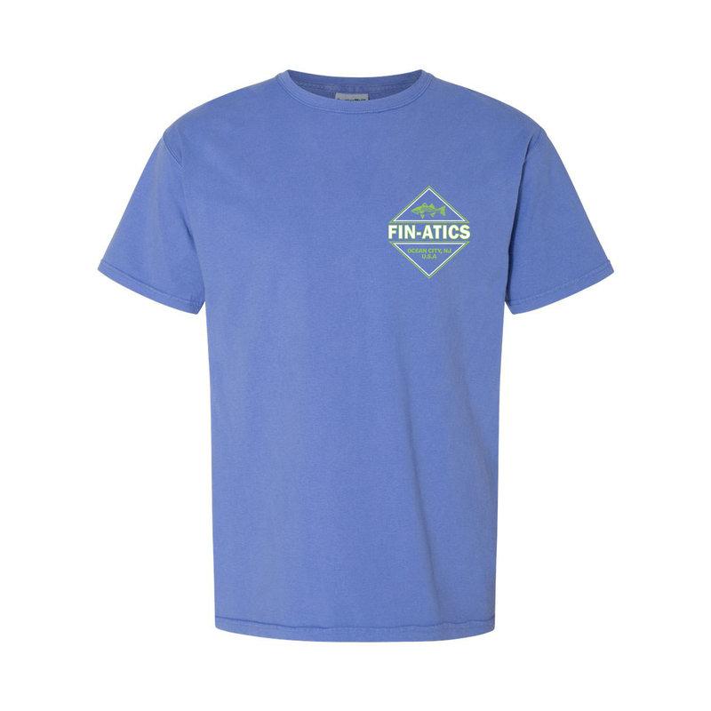 Fin-atics Fin-atics Adventure Outfitters Men's Garment Dyed Short Sleeve T-Shirt