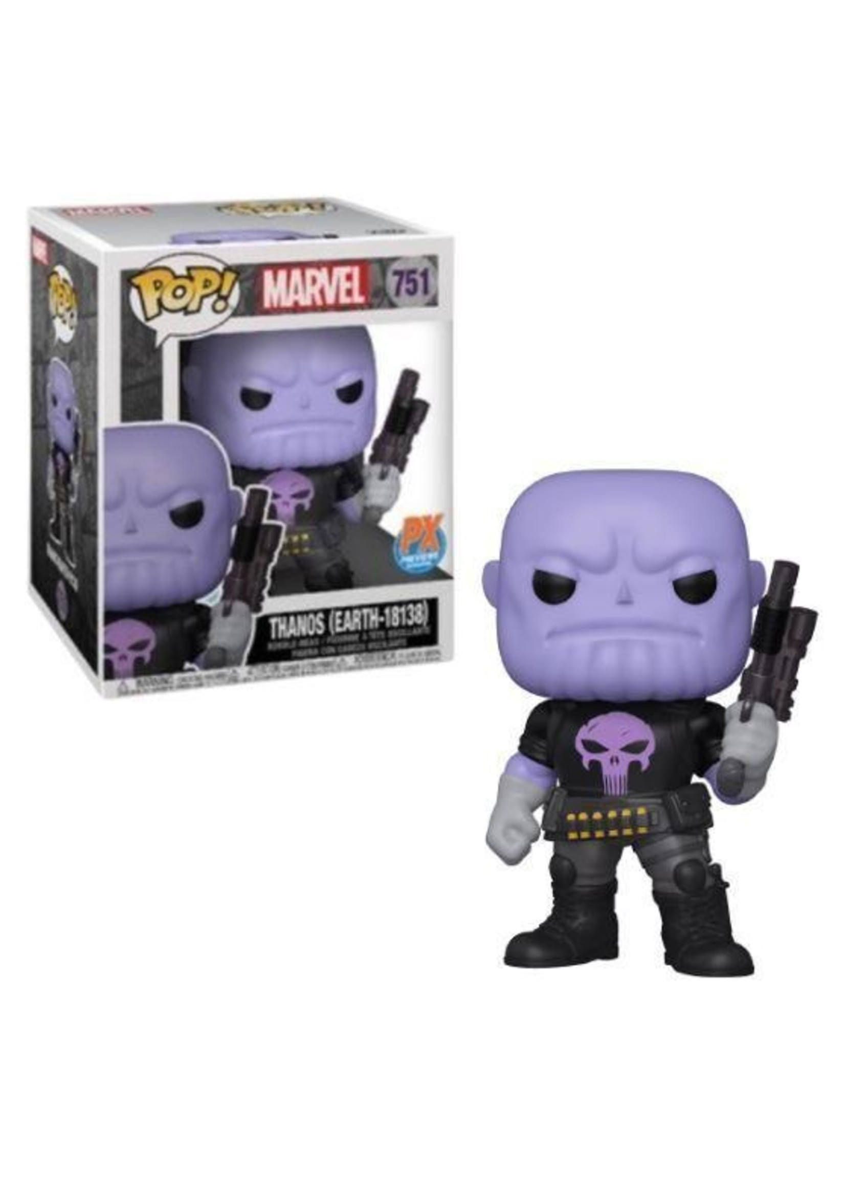 Thanos Punisher Earth-18138 PX