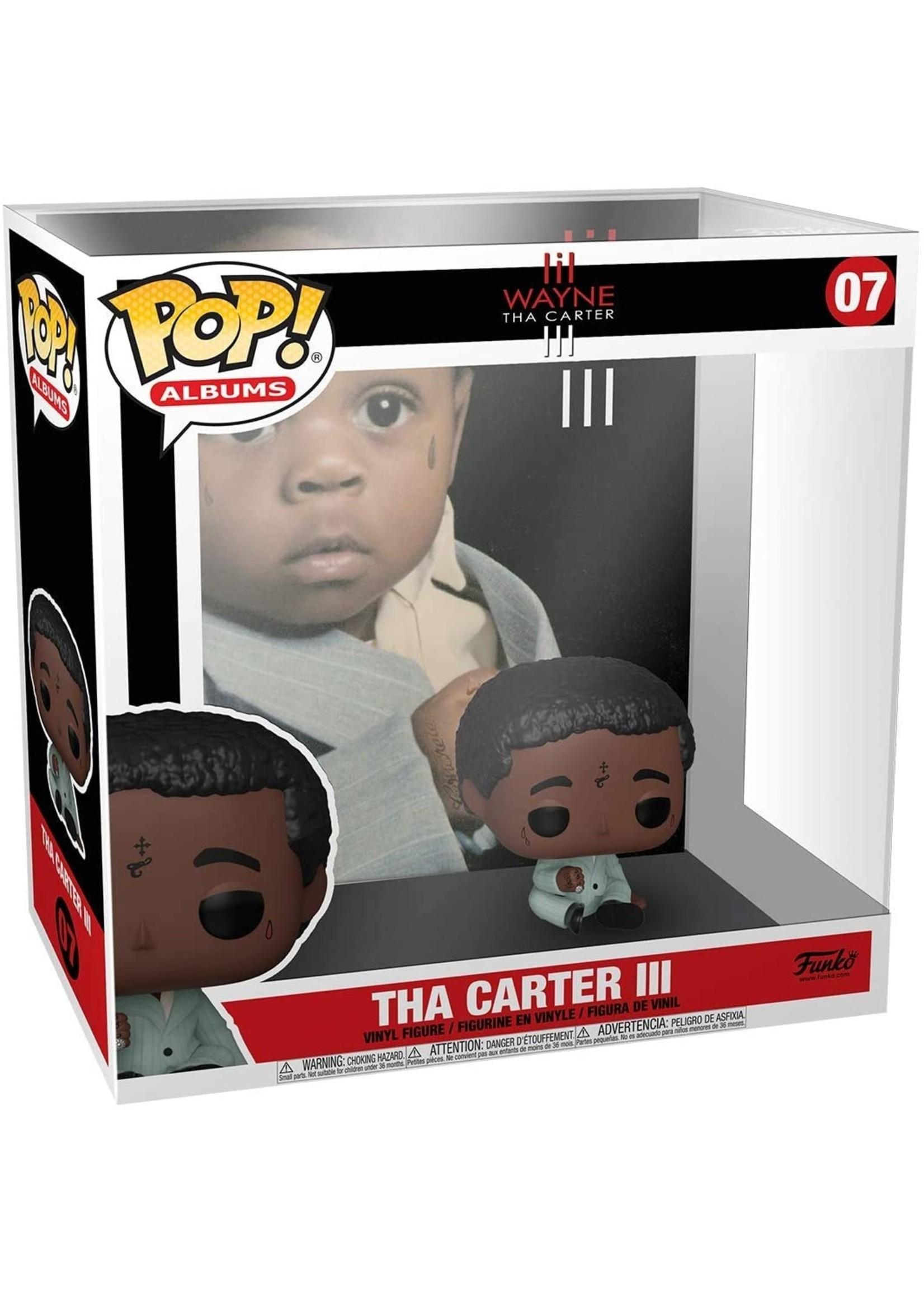 Lil Wayne Tha Carter III Album Vinyl Figure