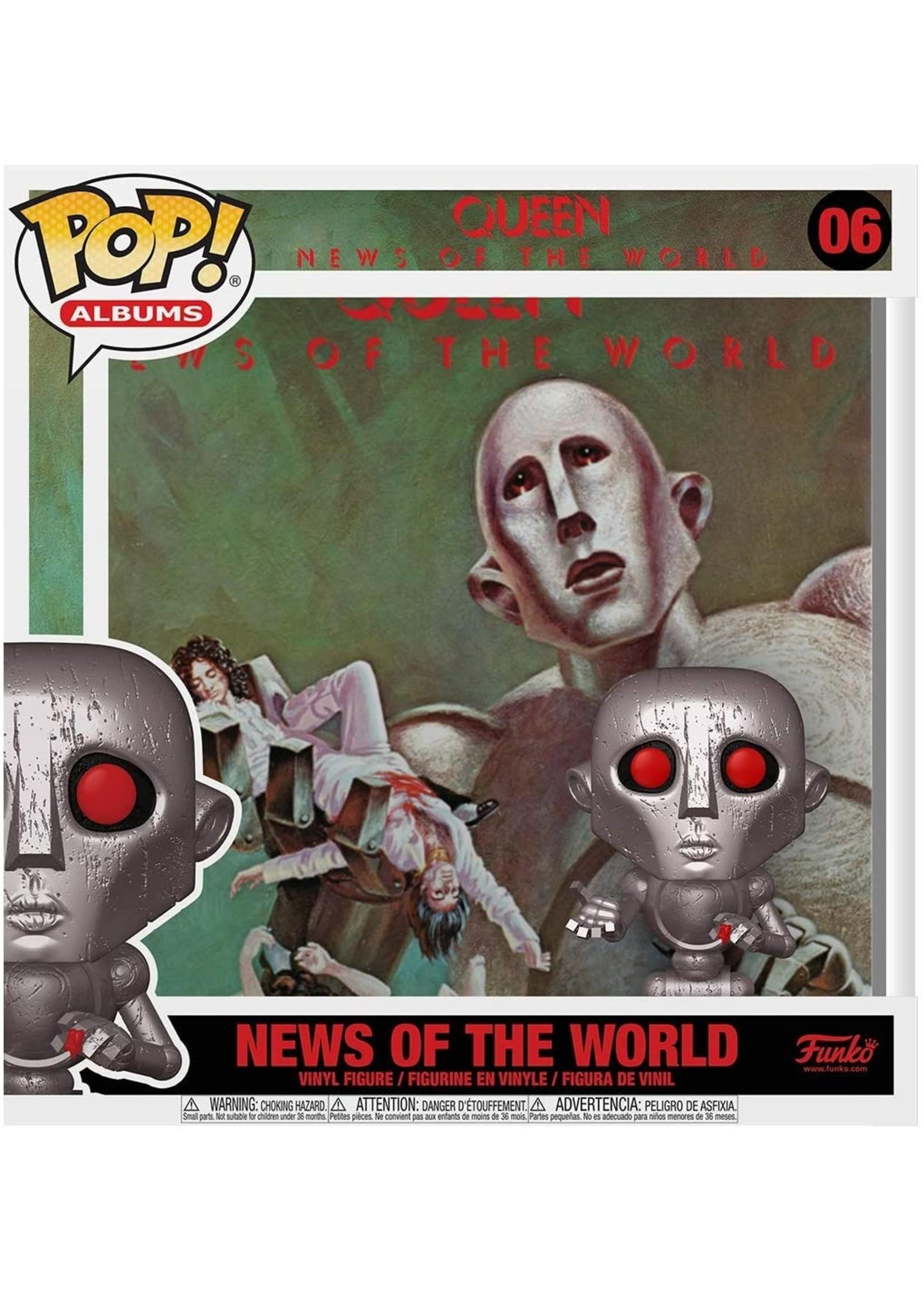 Queen News Of The World Album Vinyl Figure