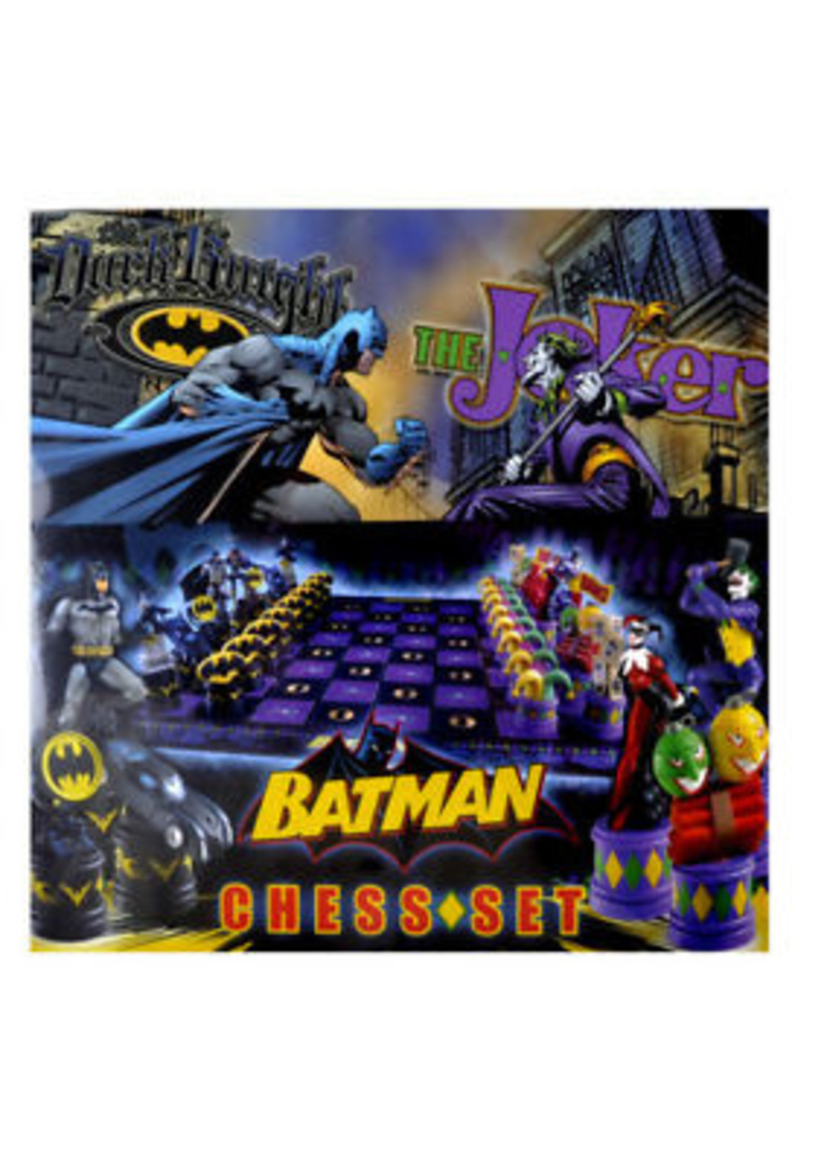Batman vs Joker Chess Set