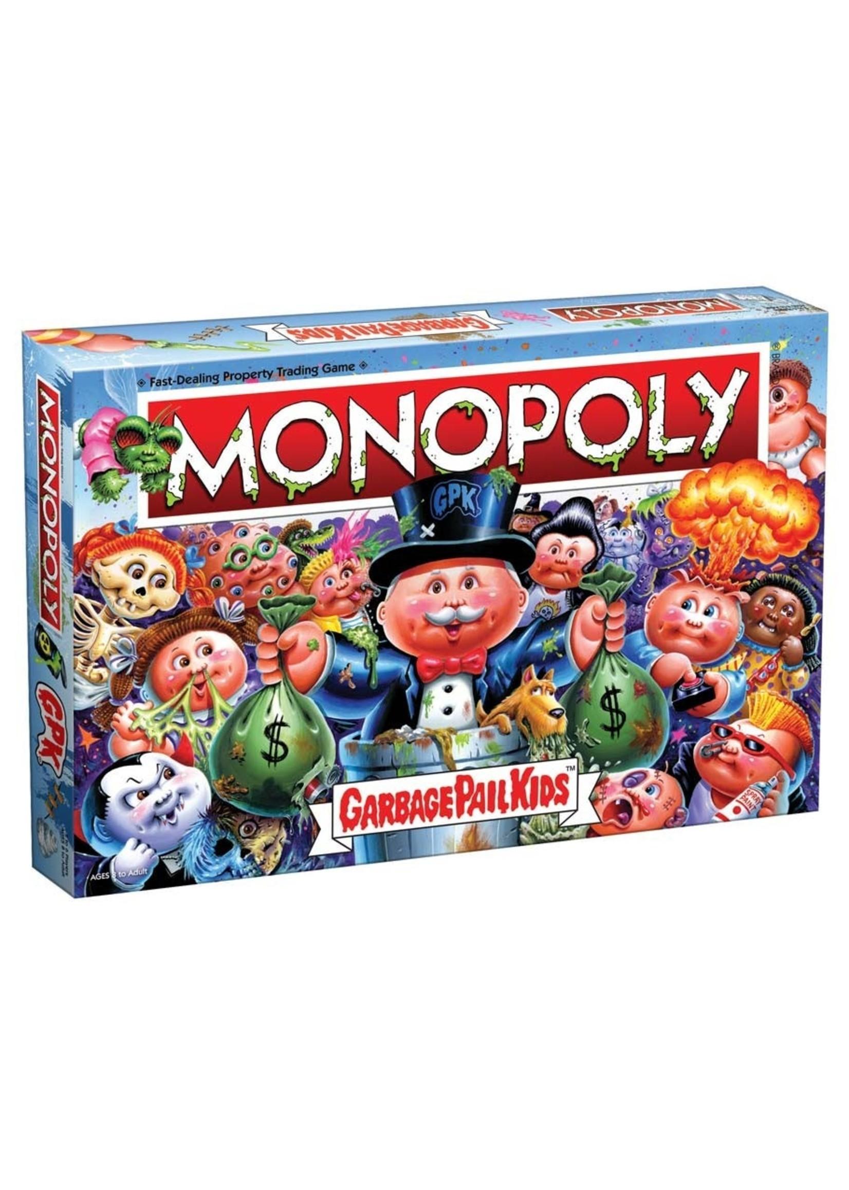 The OP Games Monopoly - Garbage Pail Kids