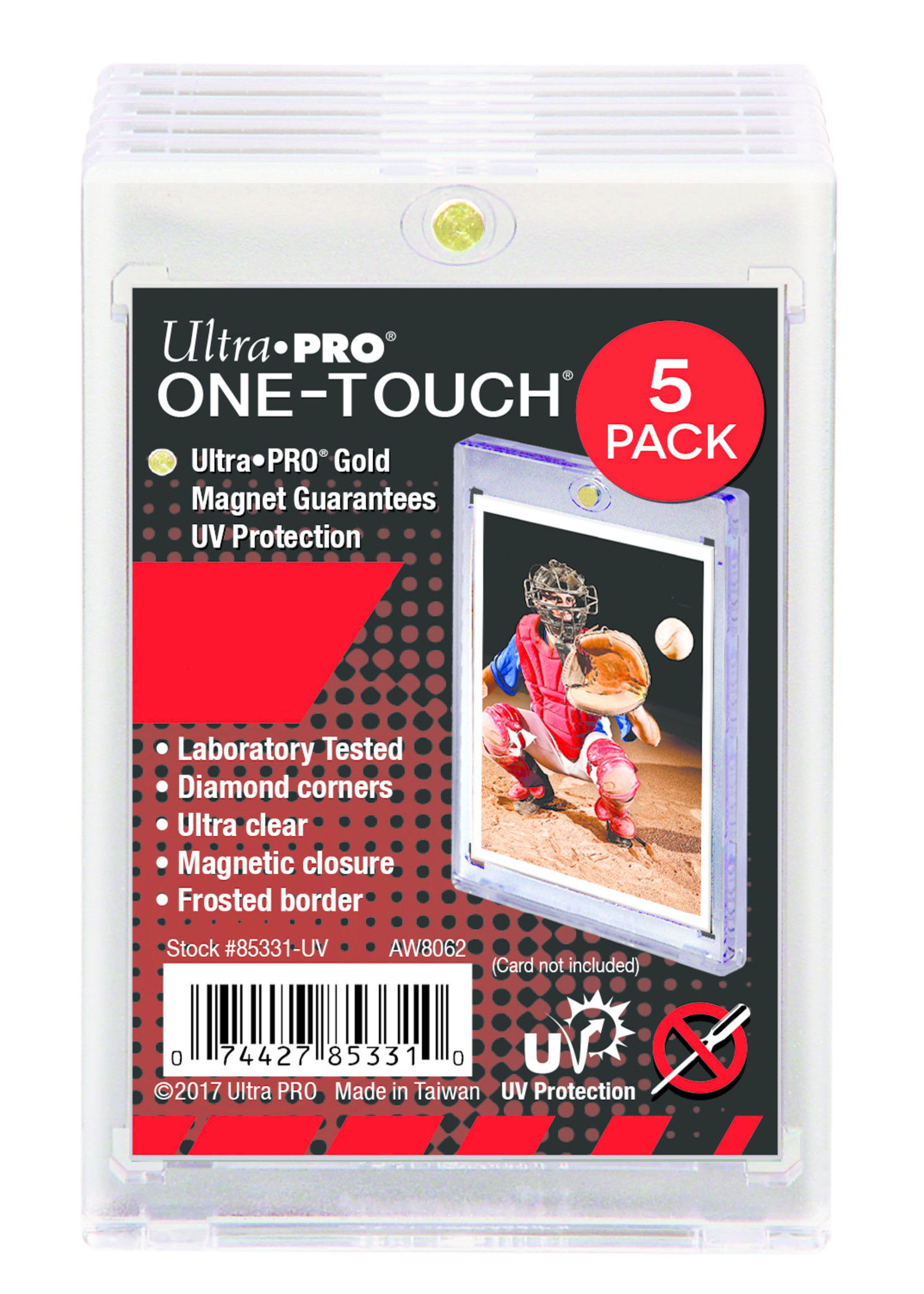 Ultra Pro Ultra Pro One Touch 180pt 5 Pack