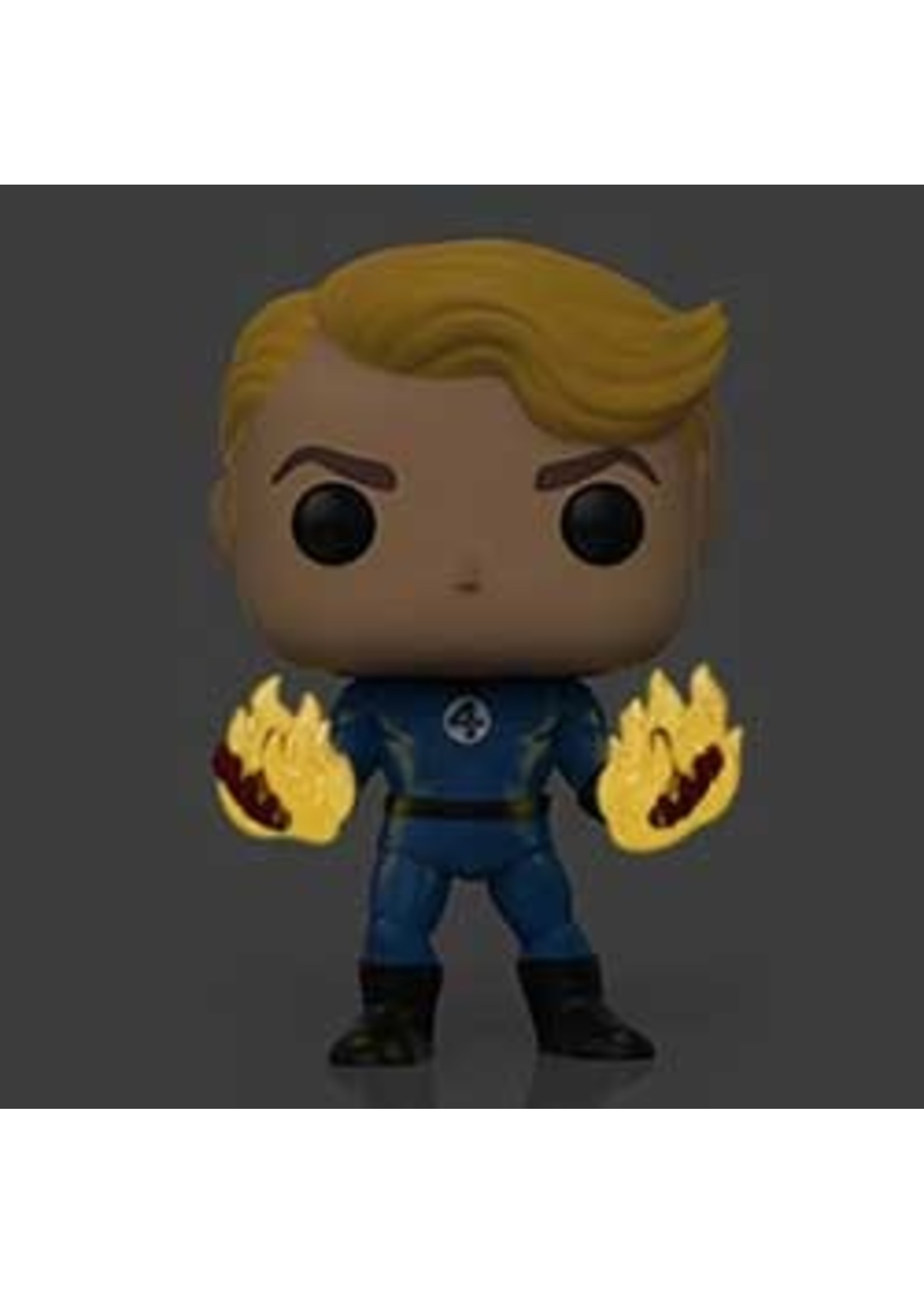 Fantastic Four Human Torch Specialty Series Exclusive