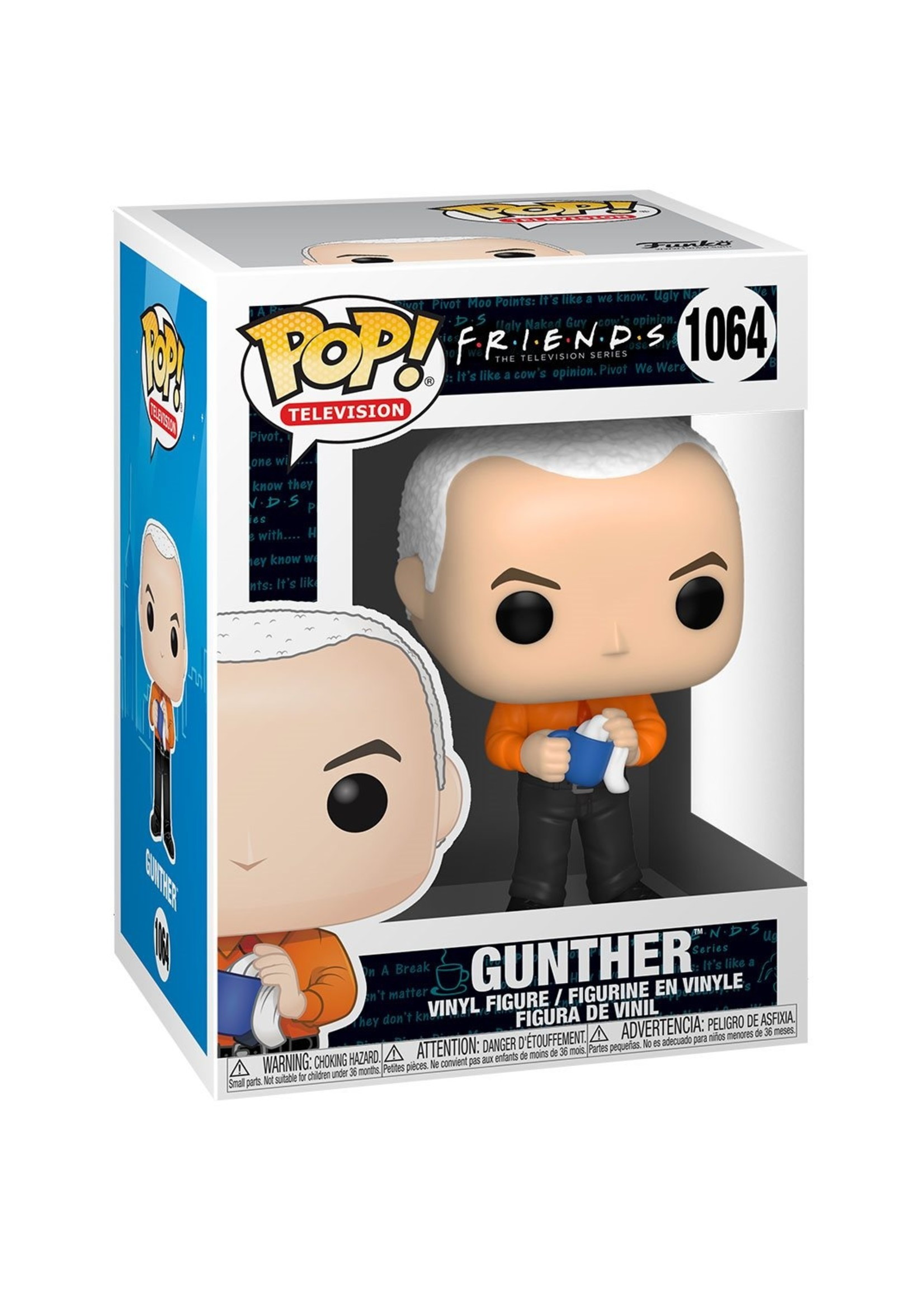 Friends - Gunther In Vest