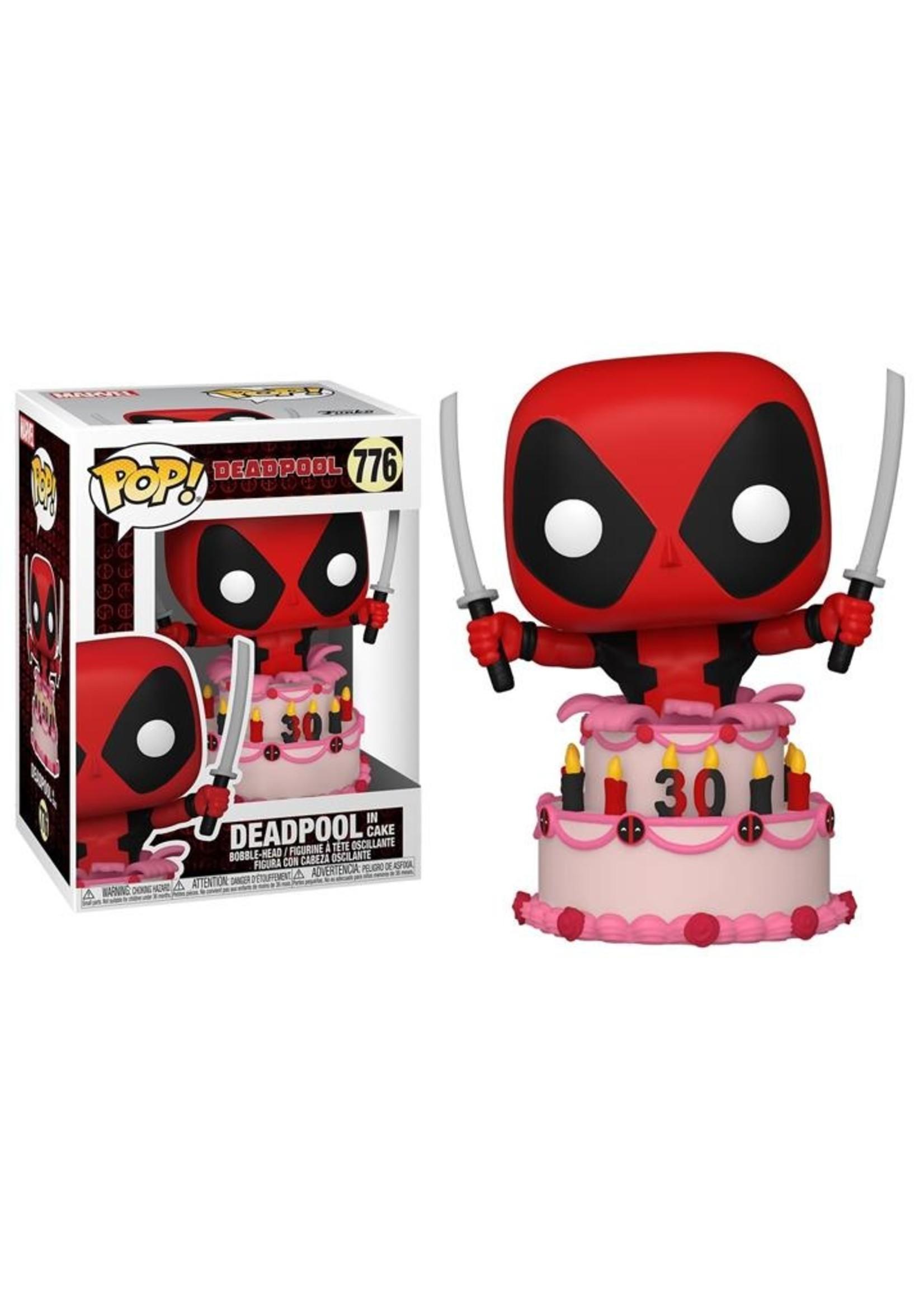 Deadpool In Cake Pop
