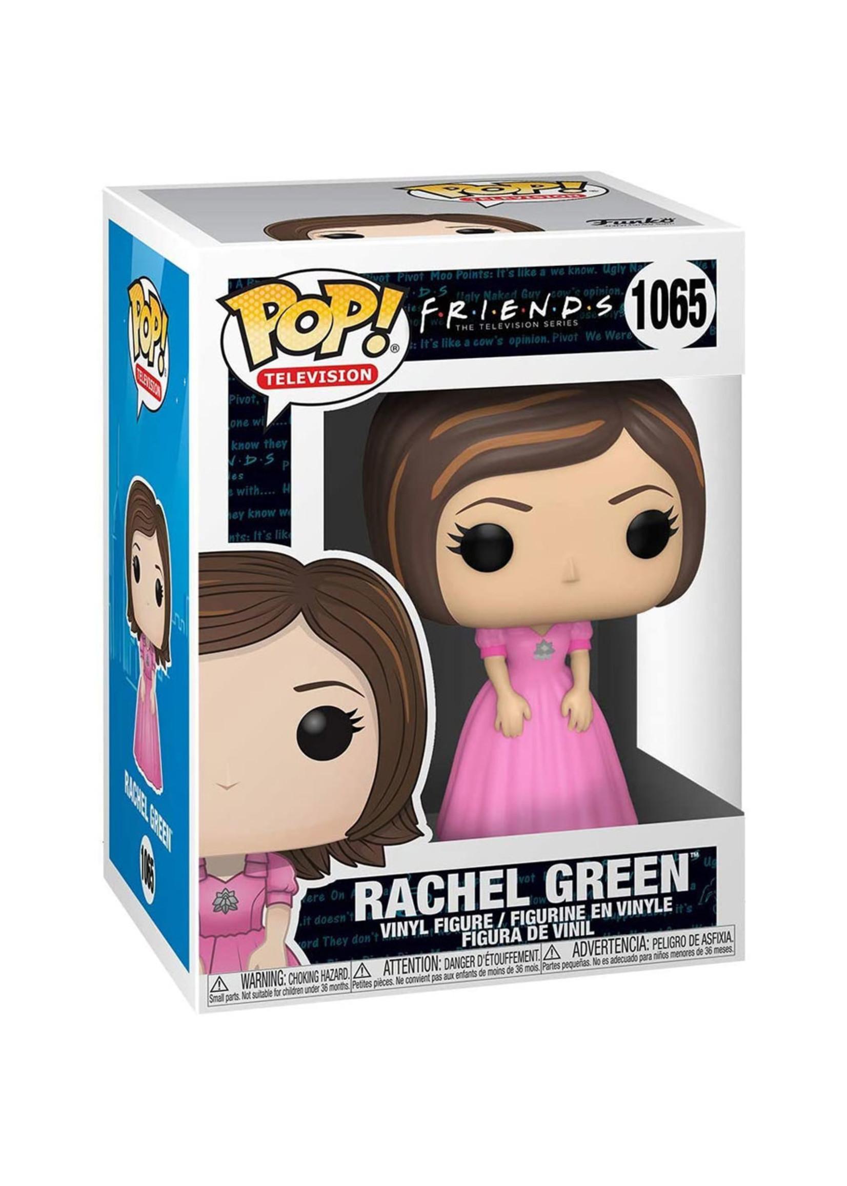 Friends - Rachel In Pink Dress