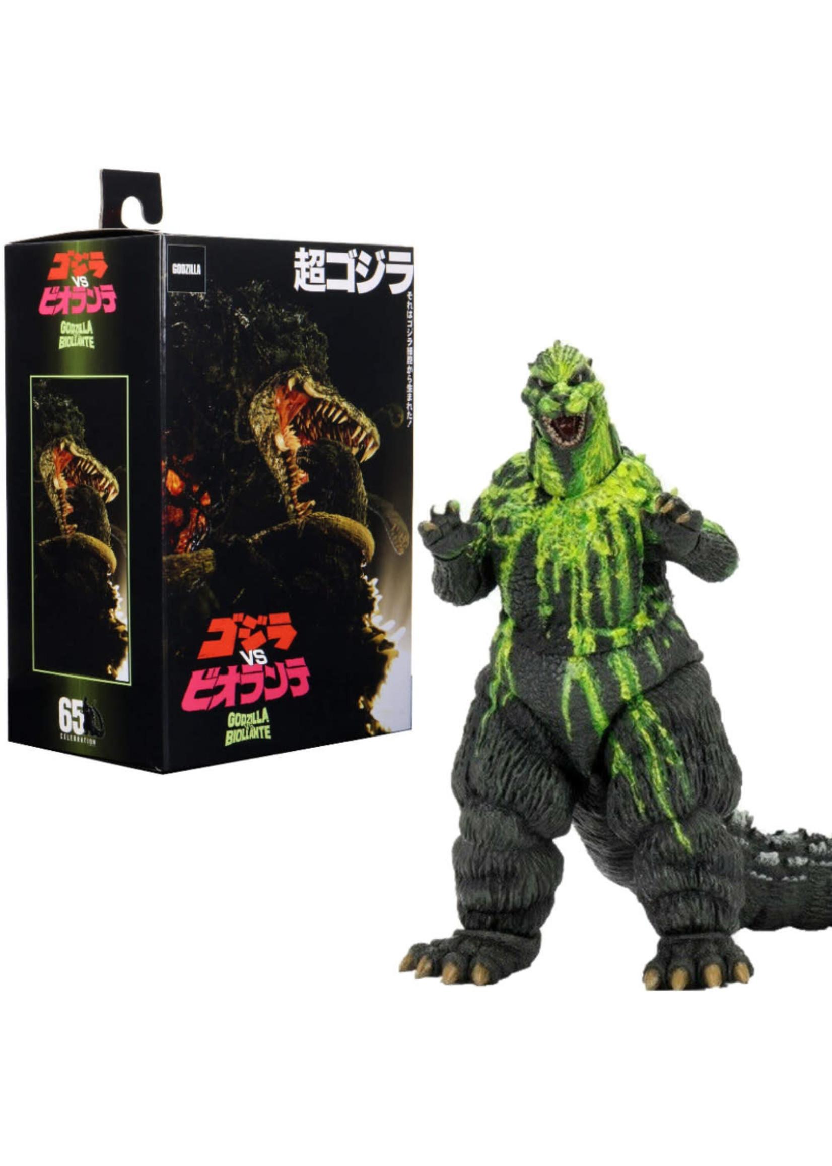 Neca Godzilla Vs Biollante Green bile