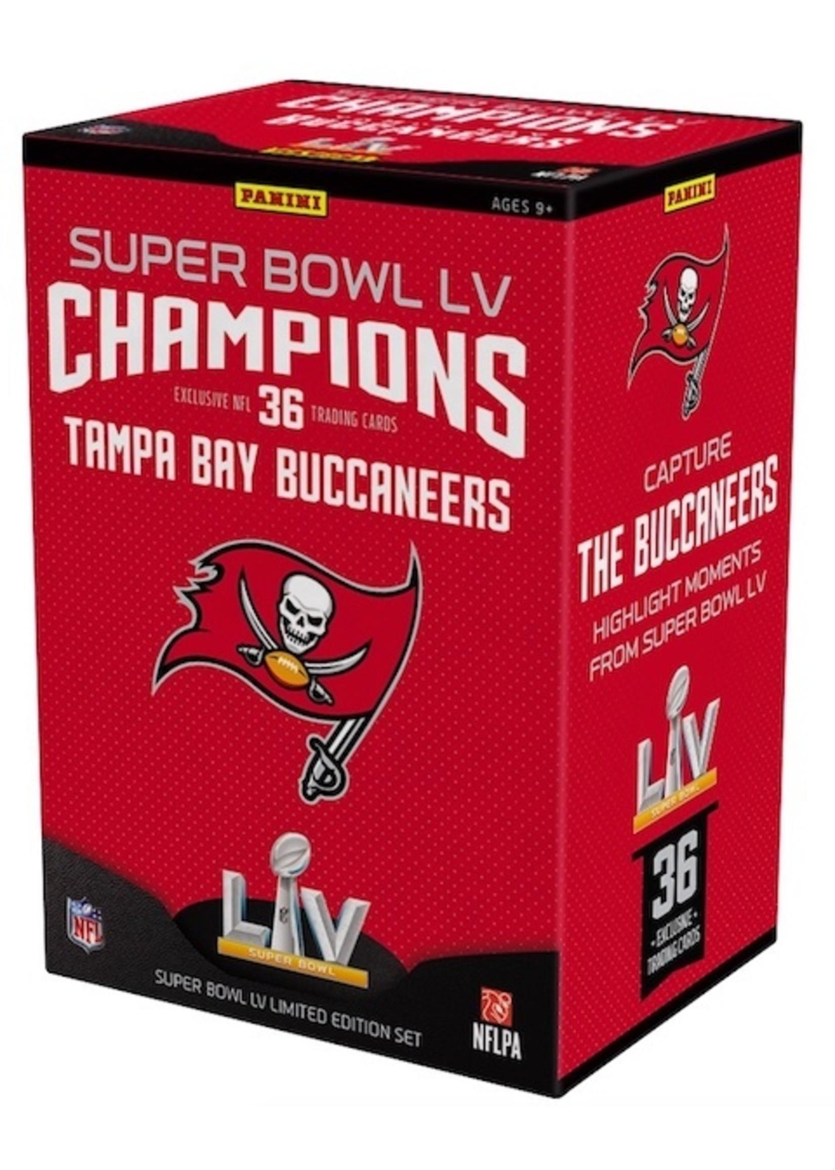 Panini Super Bowl LV champions blaster box