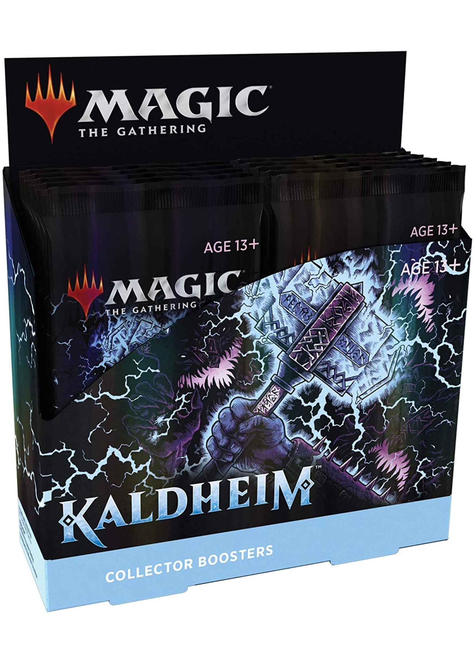 Wizards of the Coast MTG Kaldheim Collector Booster