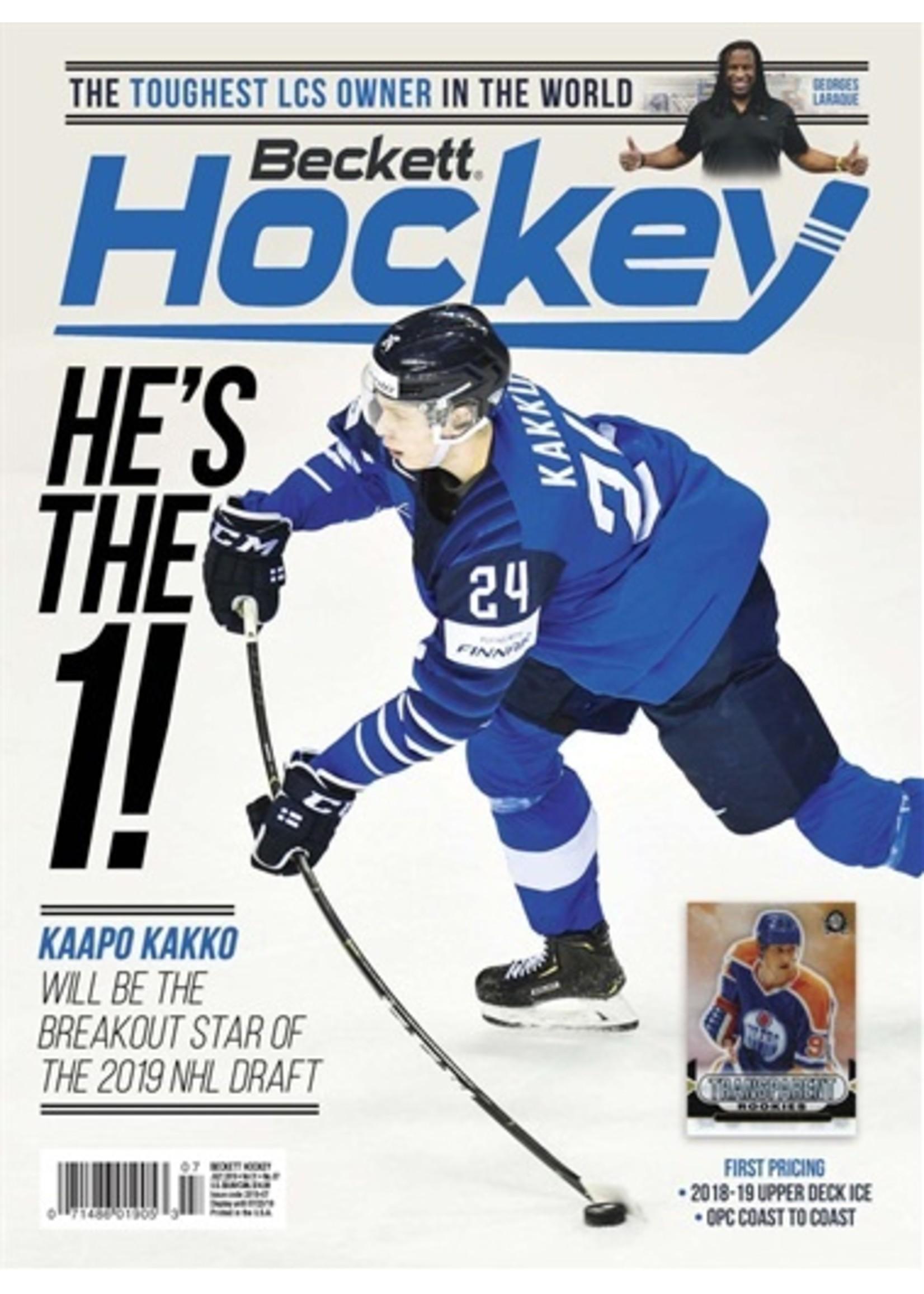 Beckett Sports Card Monthly Hockey
