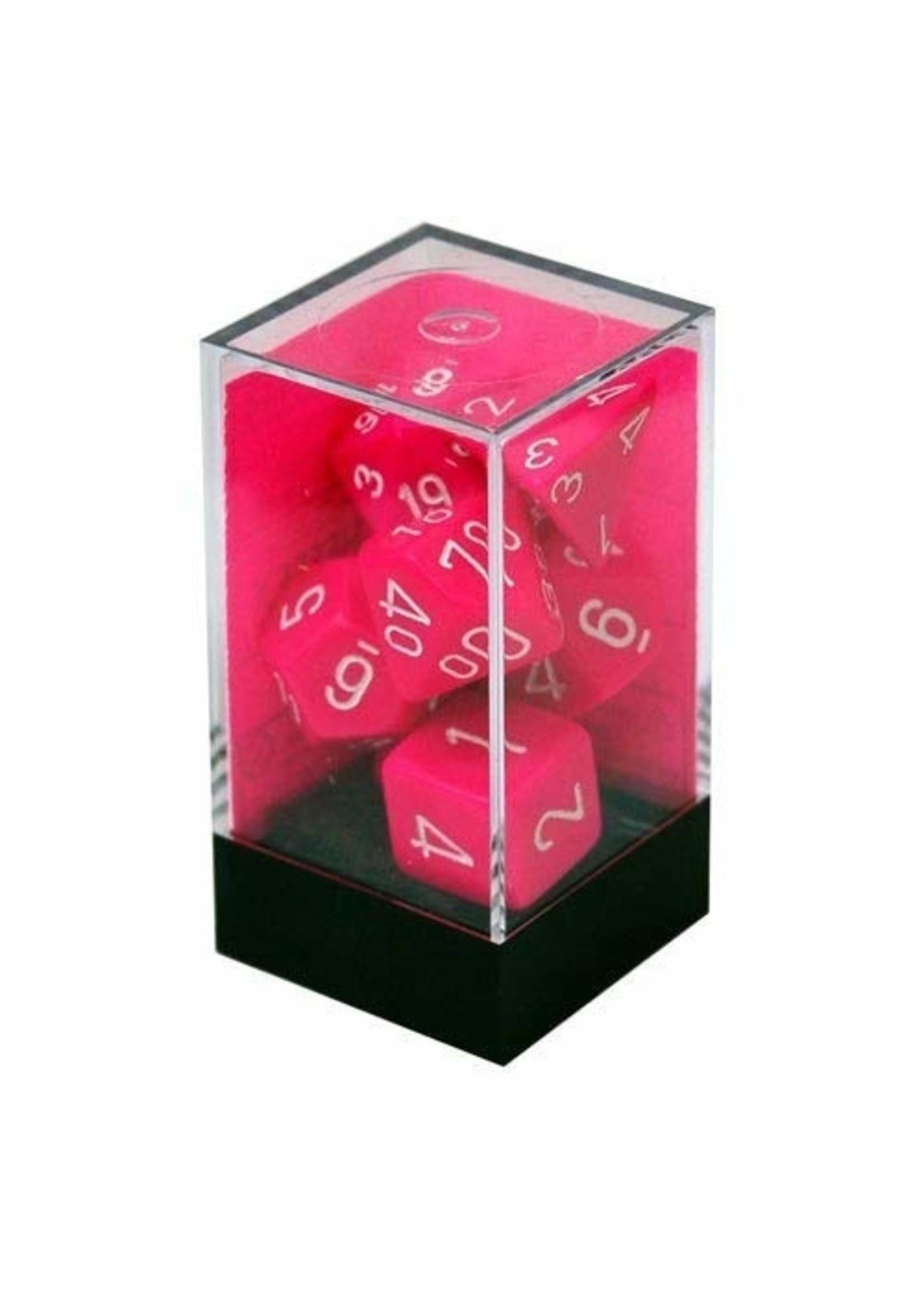 CHX 25444 Dice Pink/white