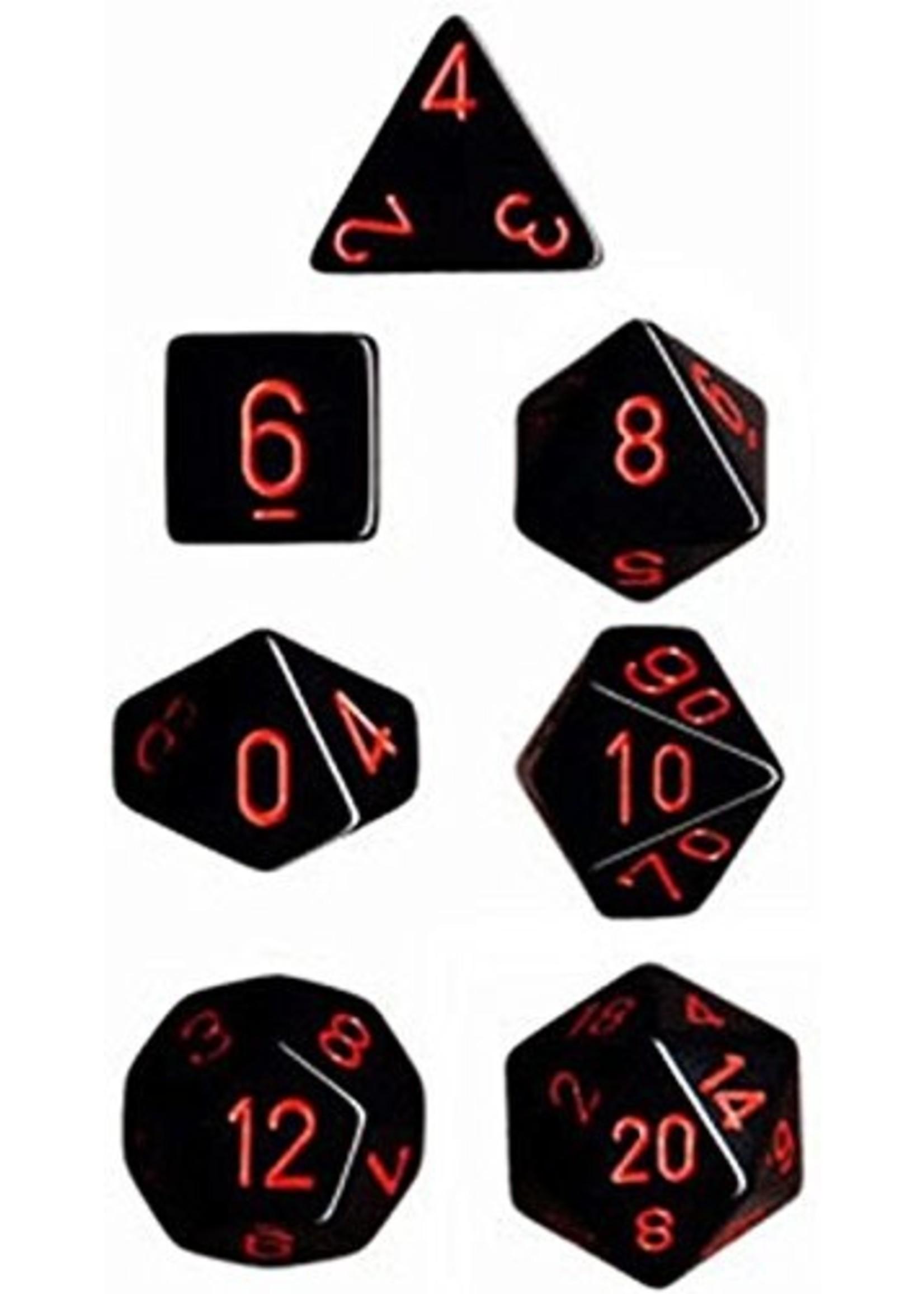 CHX 25418 Dice Black/red