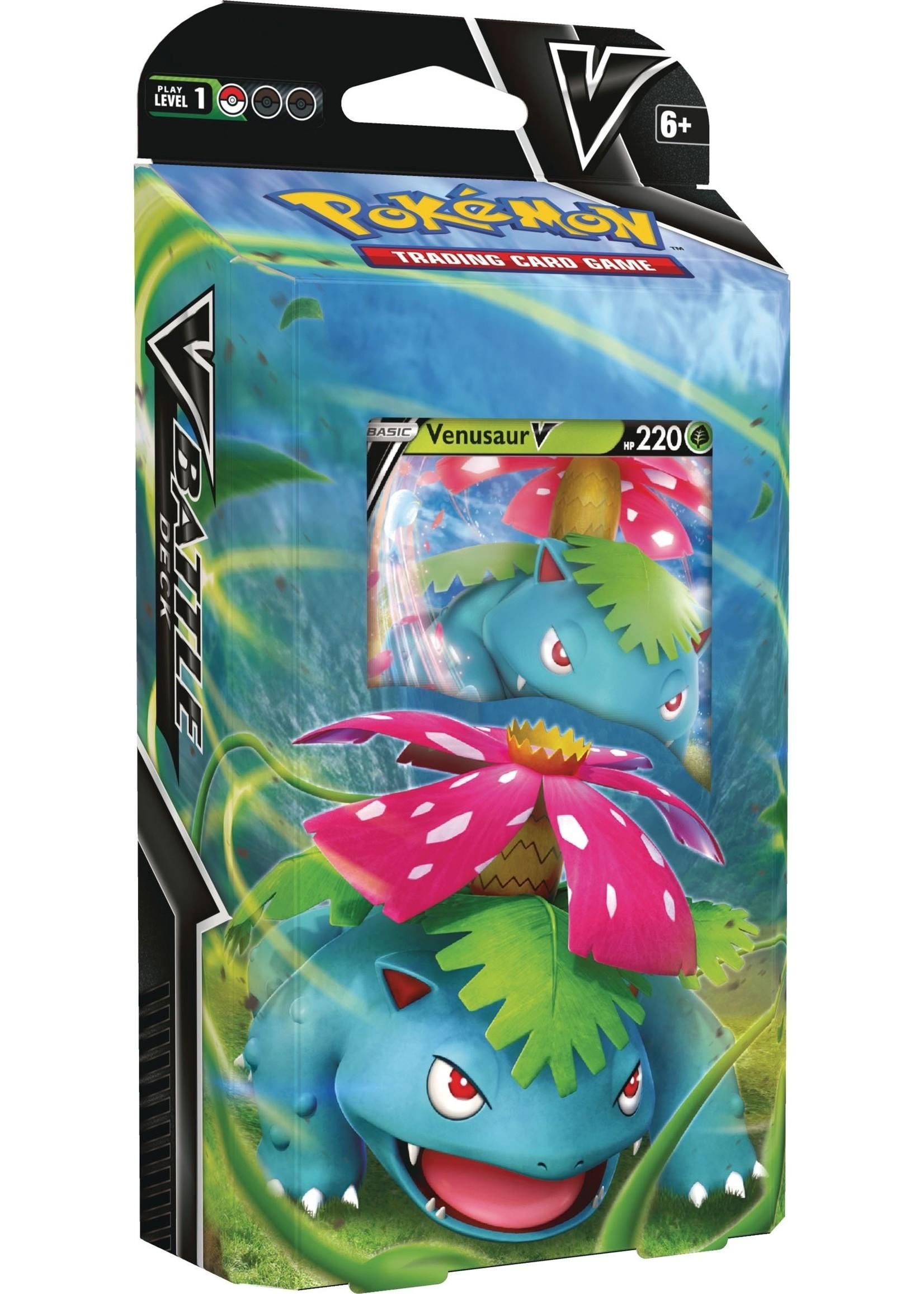 The Pokemon Company V battle deck Pokémon Venusaur