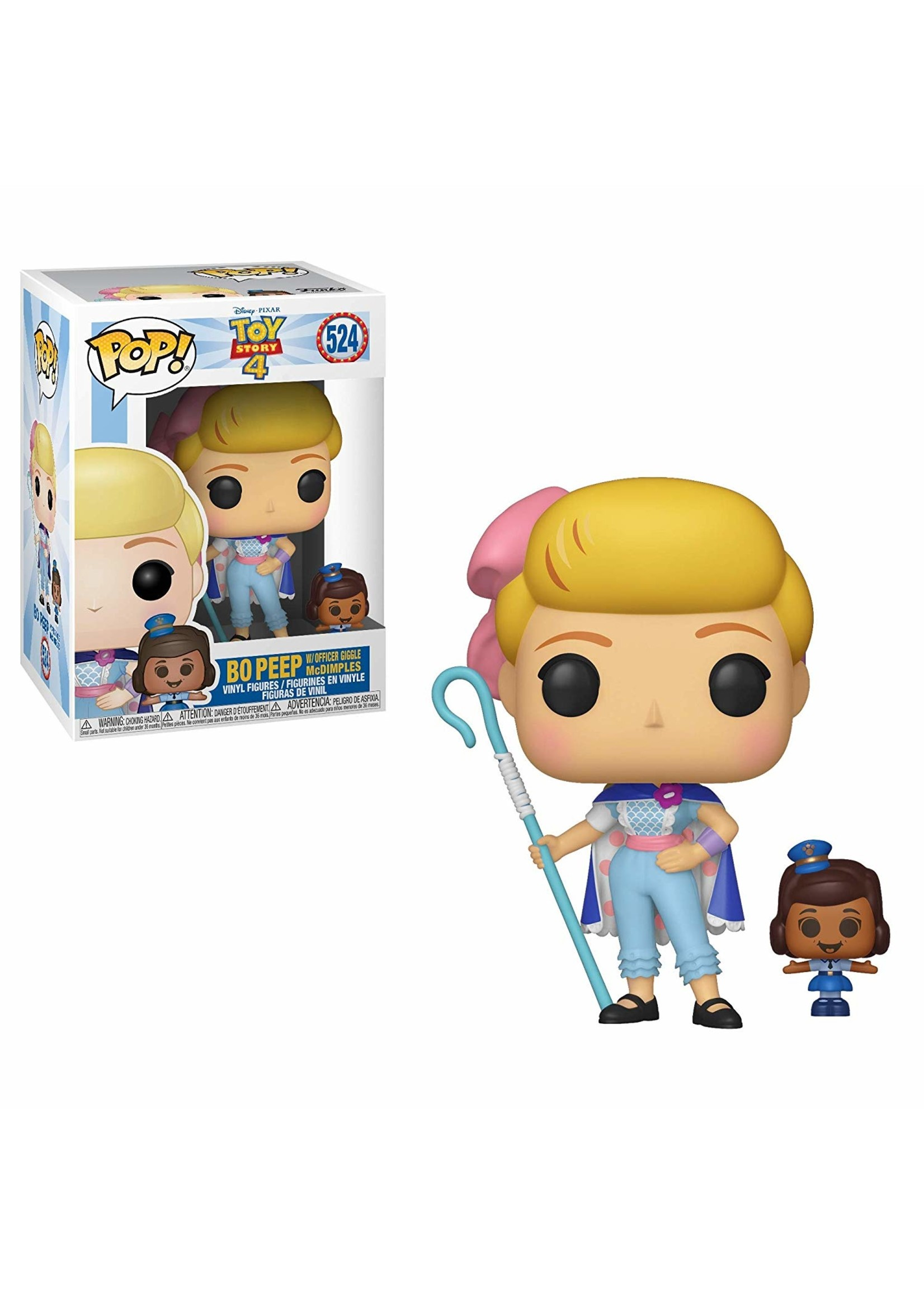 Toy Story 4 Bo Peep W/ Officer Giggle McDimples