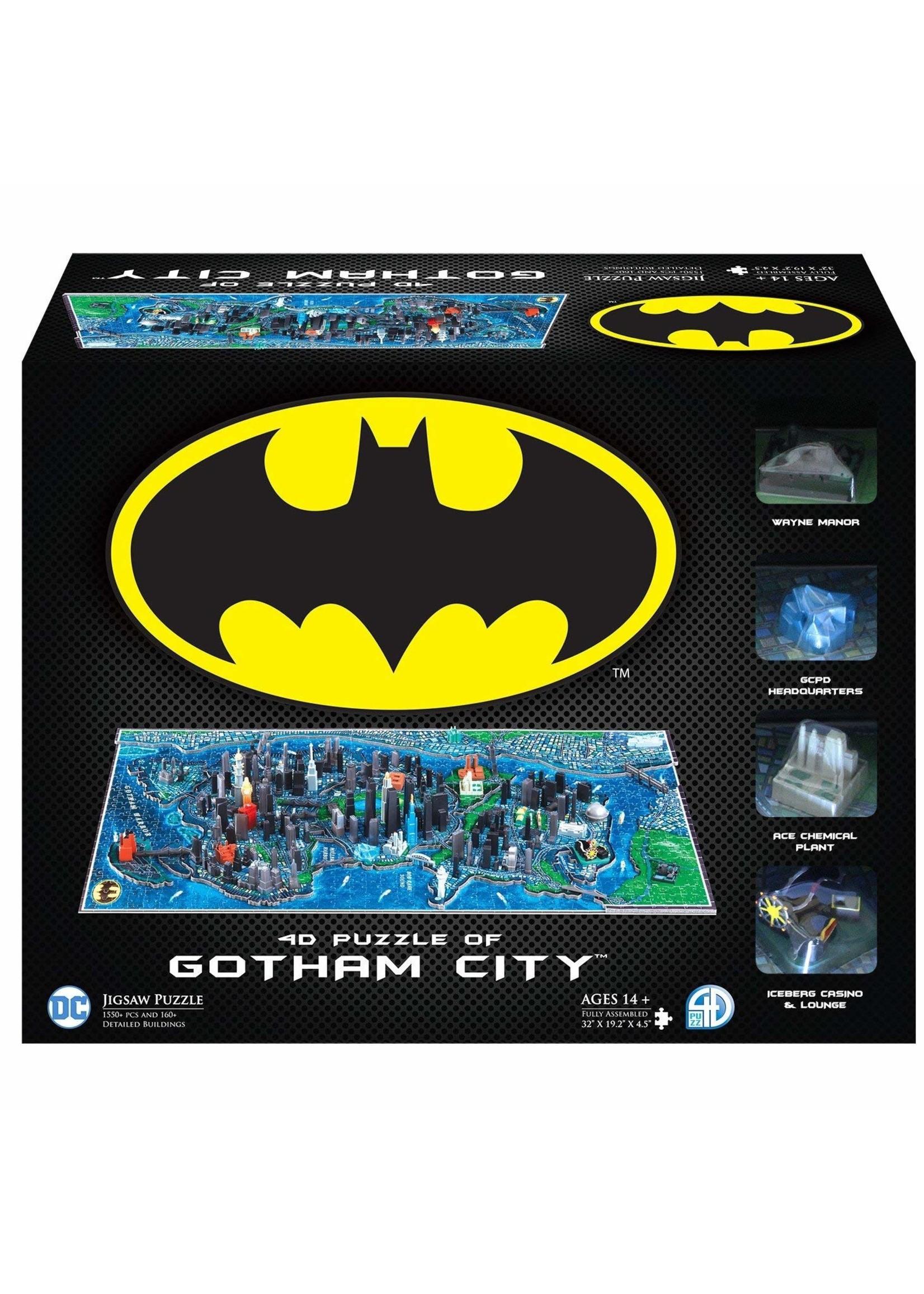 4D Cityscape 4D Batman Gotham City Time Puzzle