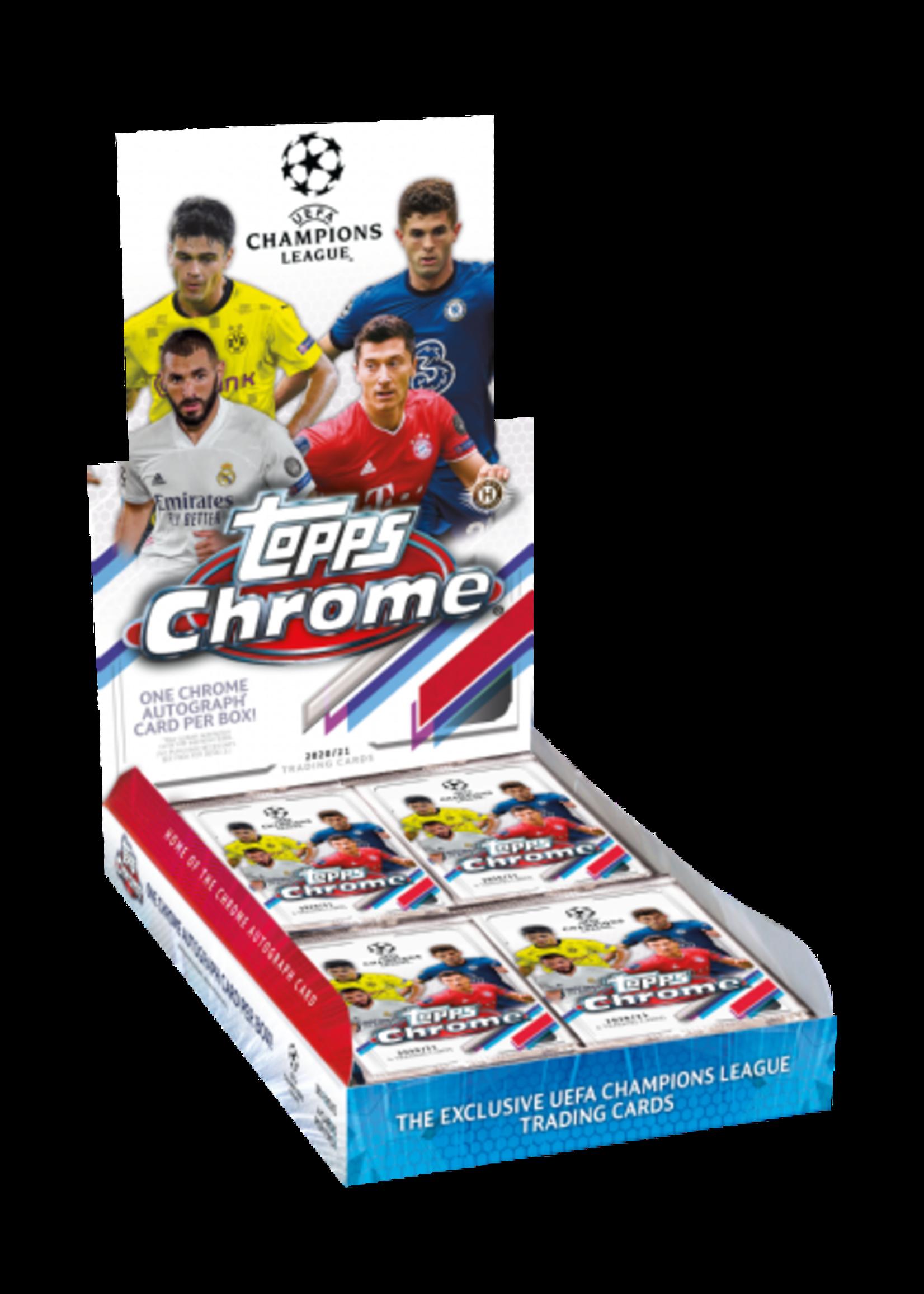 Topps 2020-21 UEFA Chrome Champions League