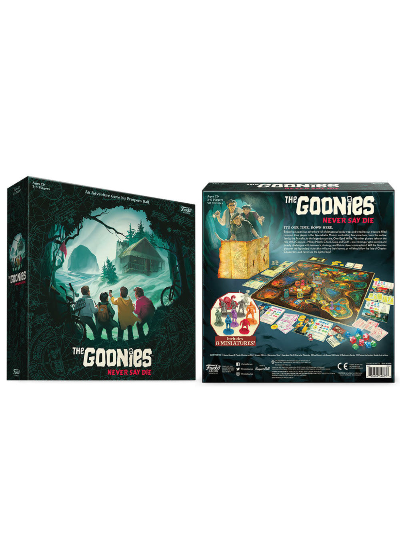 The Goonies Never Say Die Strategy Game