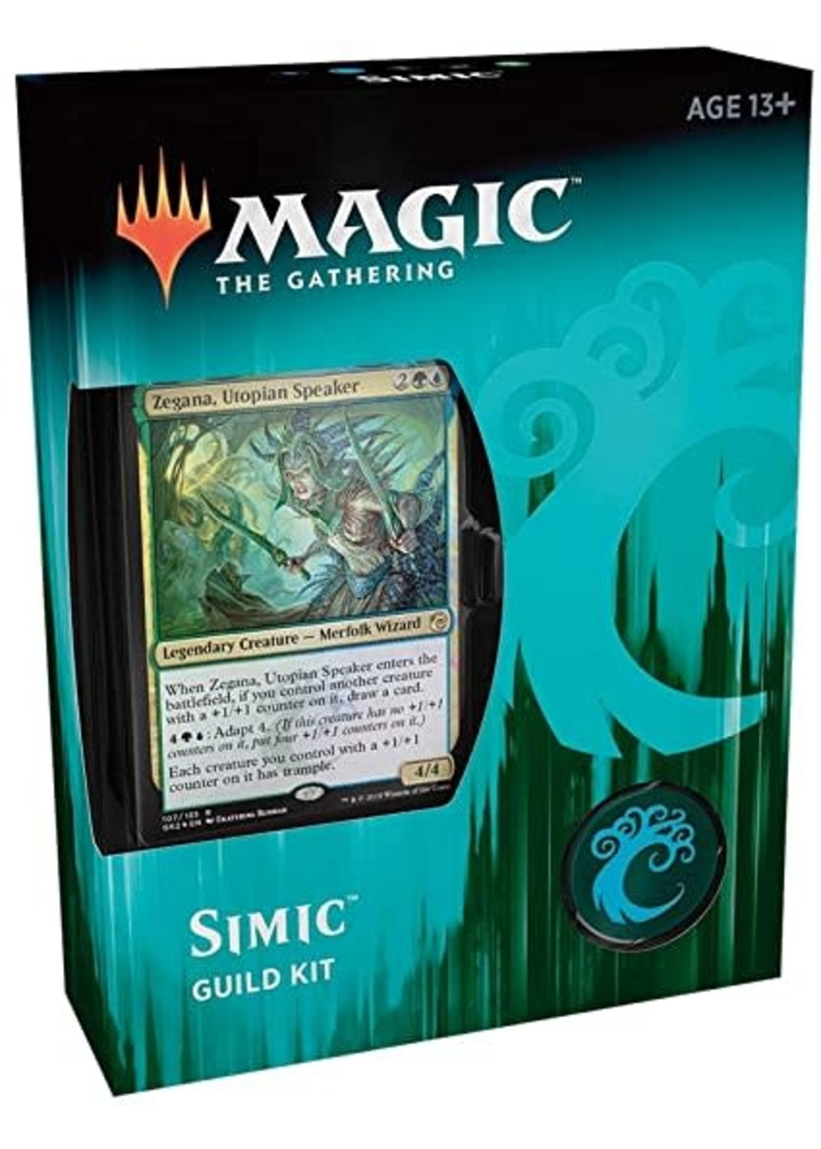 Wizards of the Coast Magic The Gathering Simic Guild Kit