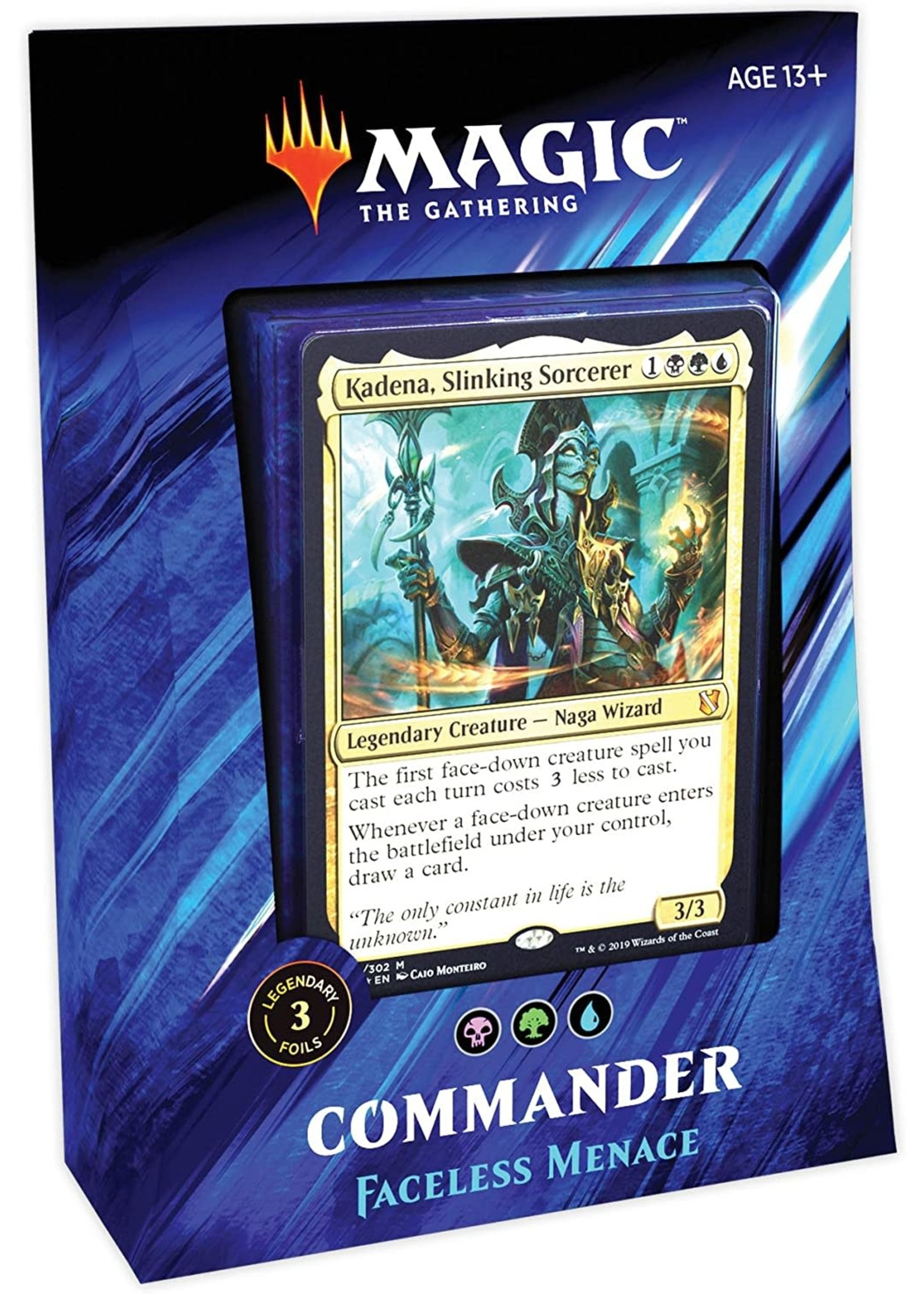 Wizards of the Coast Magic The Gathering Commander Faceless Menace