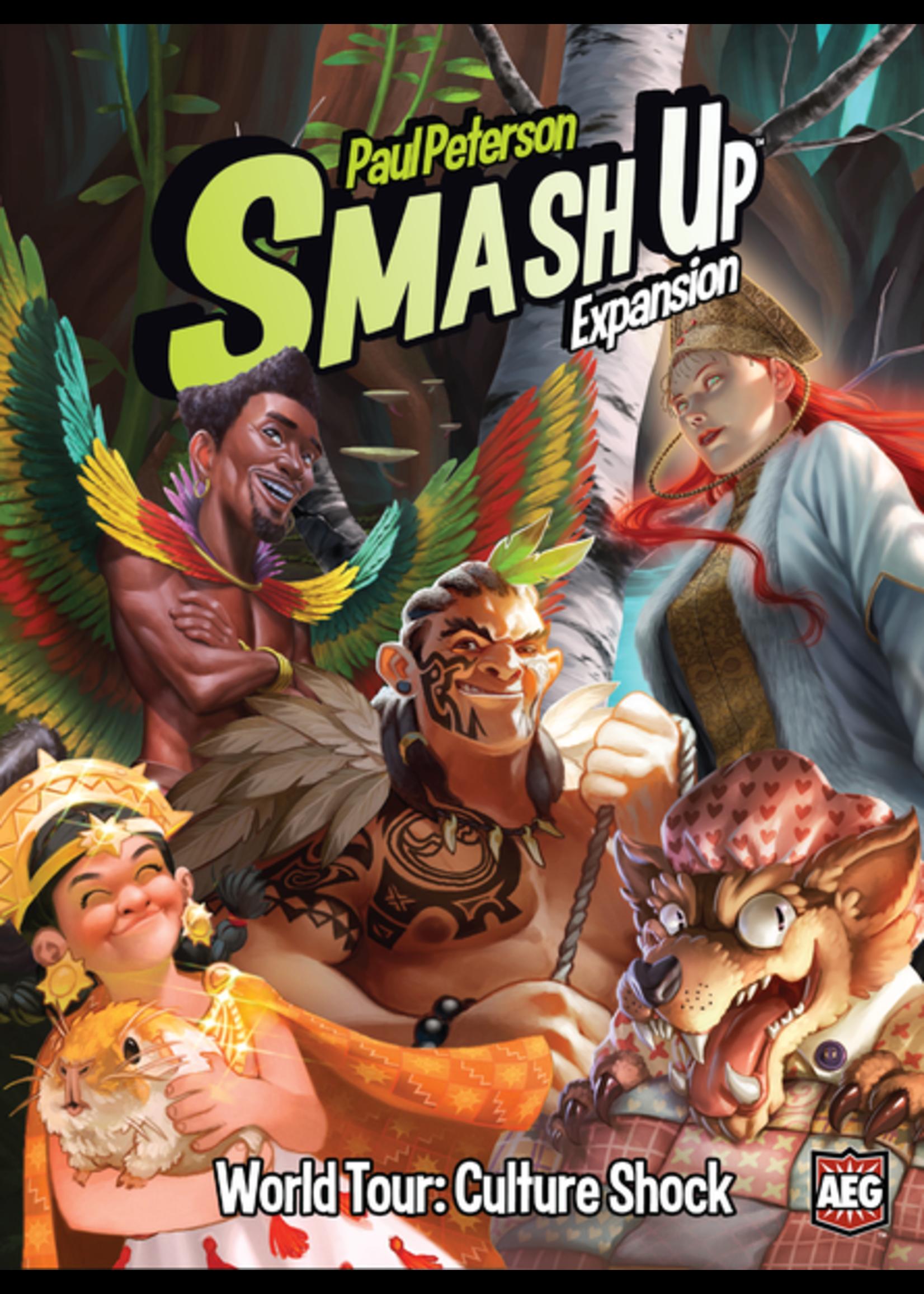 Smash Up Expansion World Tour: Culture Shock