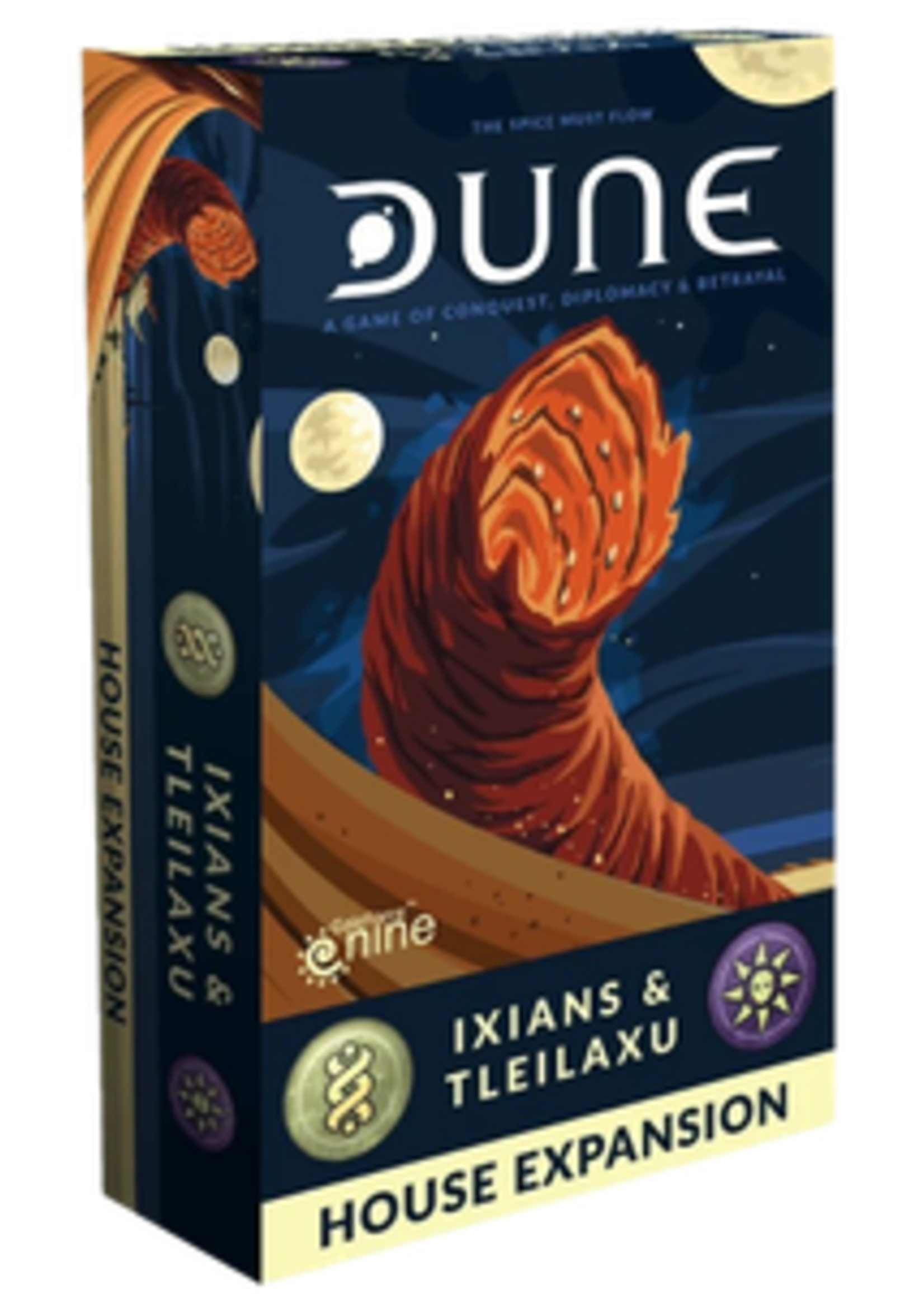 Dune - Ixians & Tleilaxu House Expansion