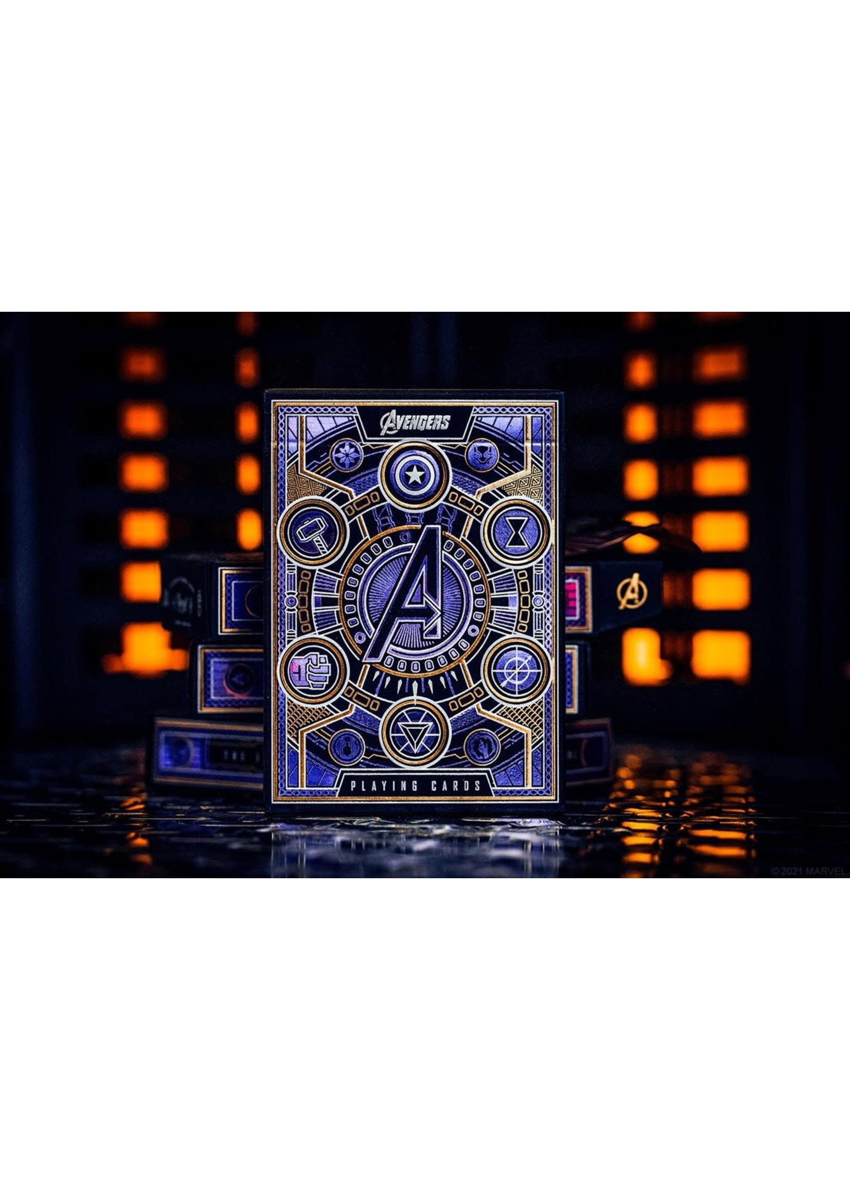 Theory 11 Premium Playing Cards The Avengers