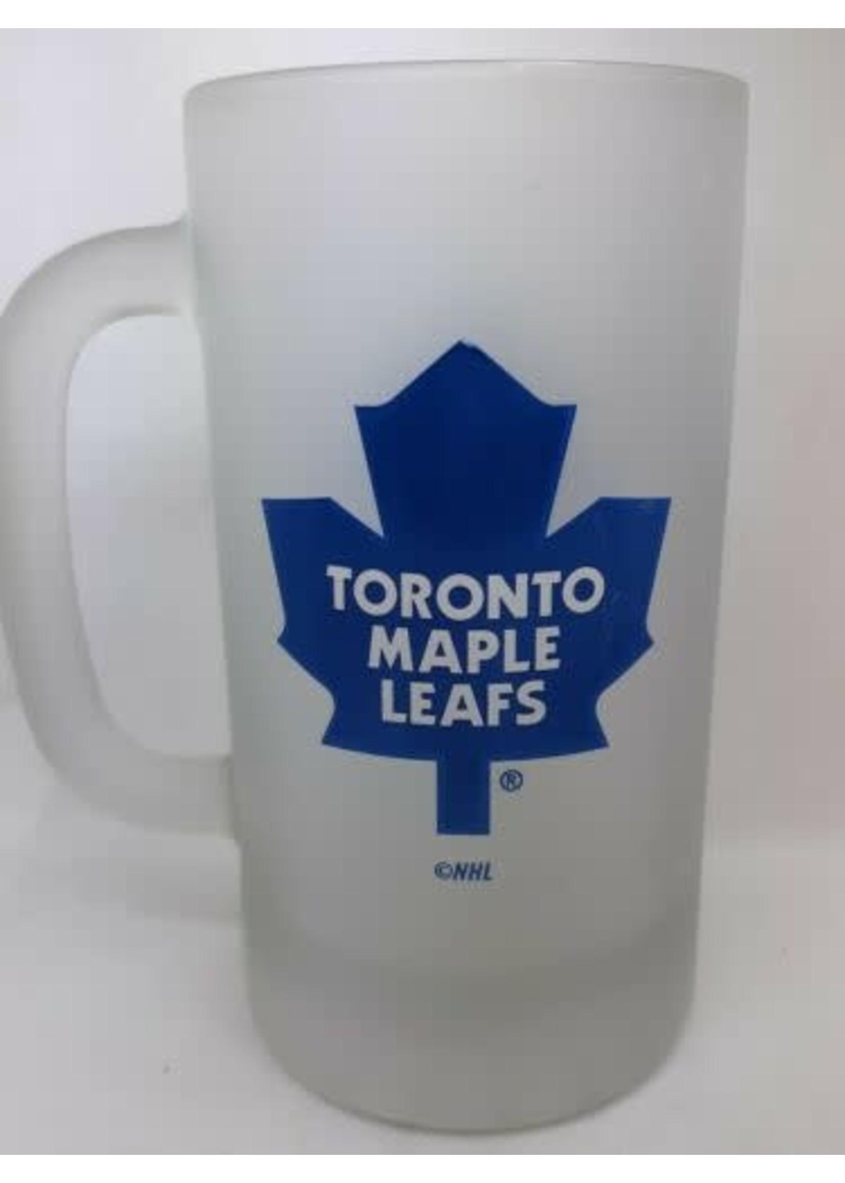 Maple Leaf smoked mug