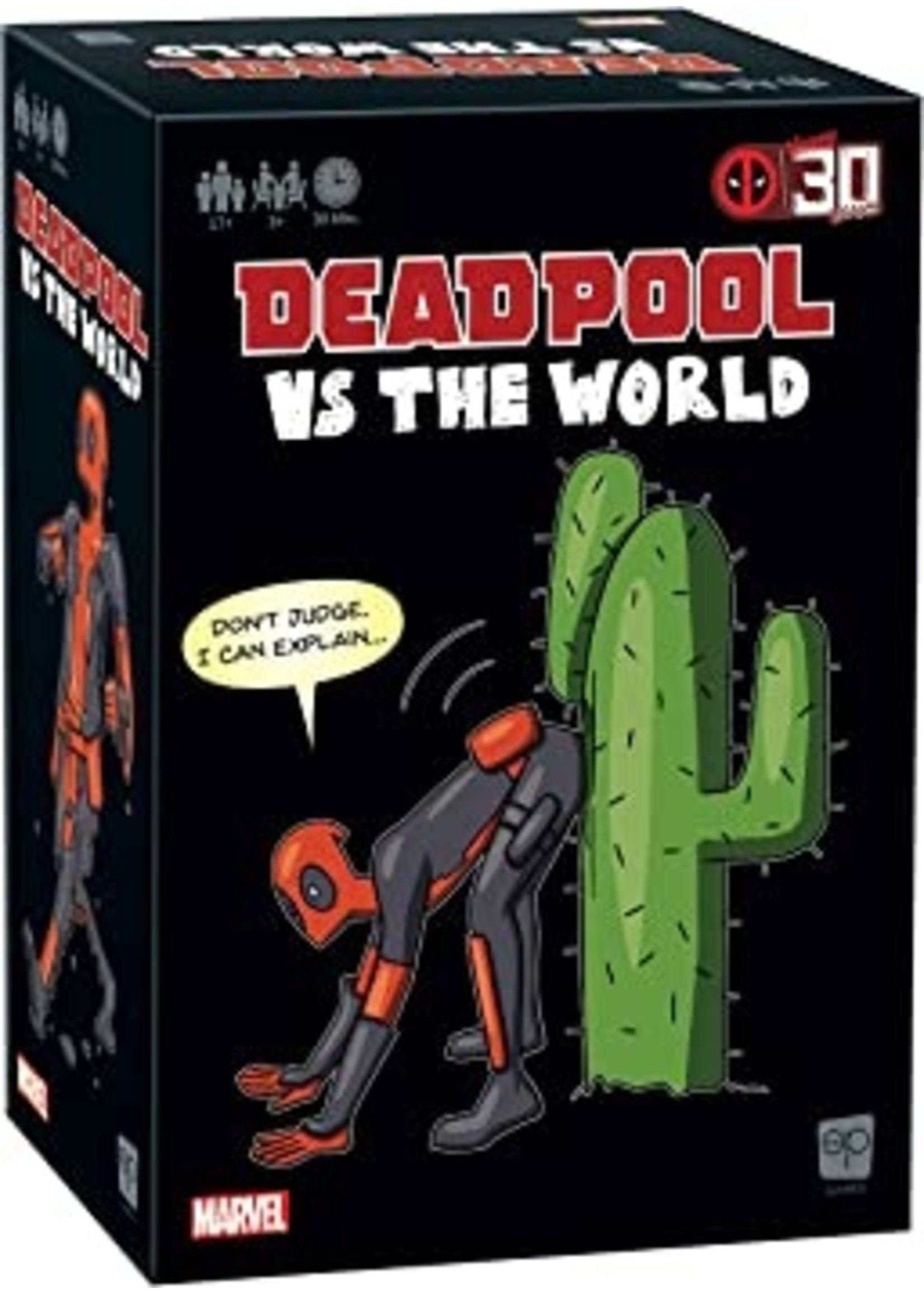 The OP Games Deadpool vs The World
