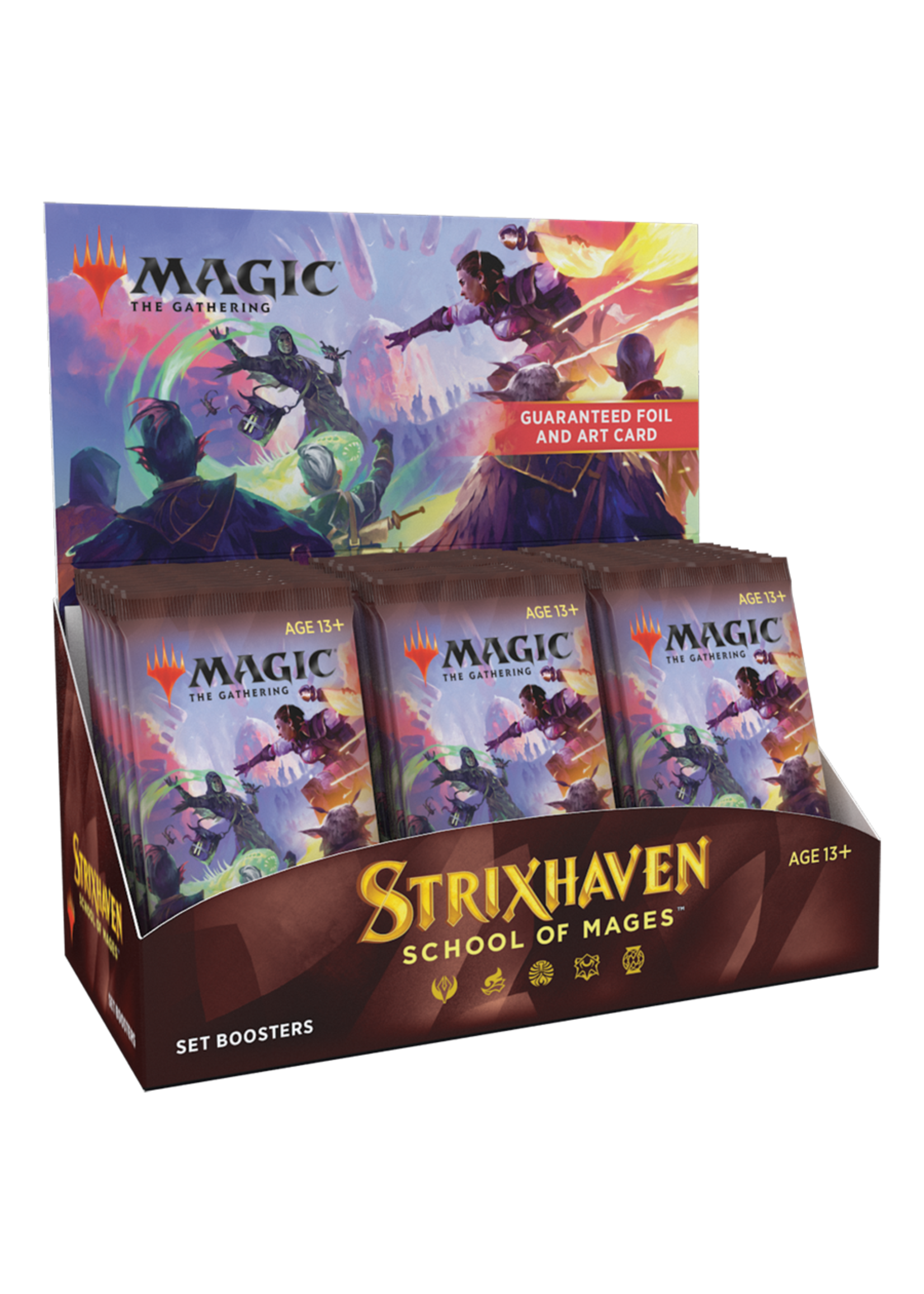 Wizards of the Coast MTG Strixhaven Set Booster