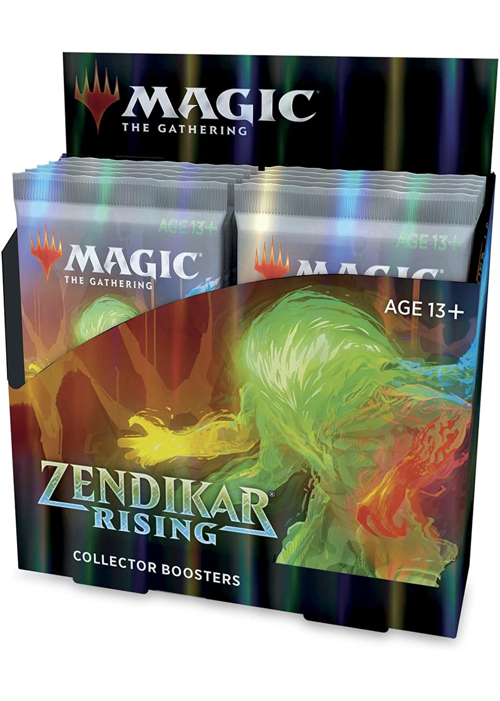 Wizards of the Coast MTG Zendikar Rising Collector Booster