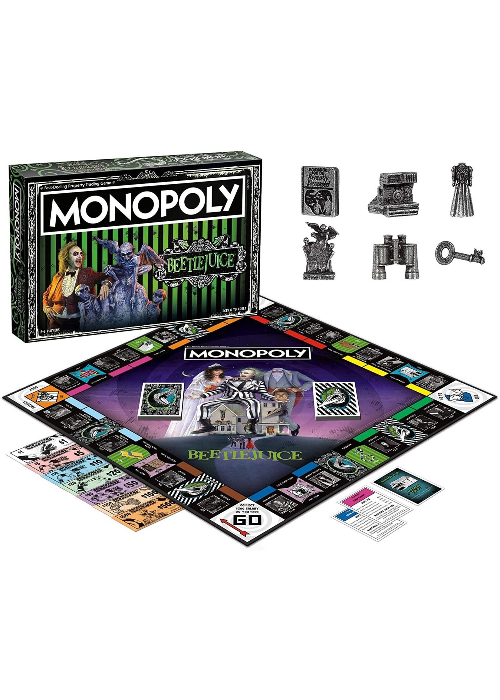 The OP Games Monopoly - Beetlejuice