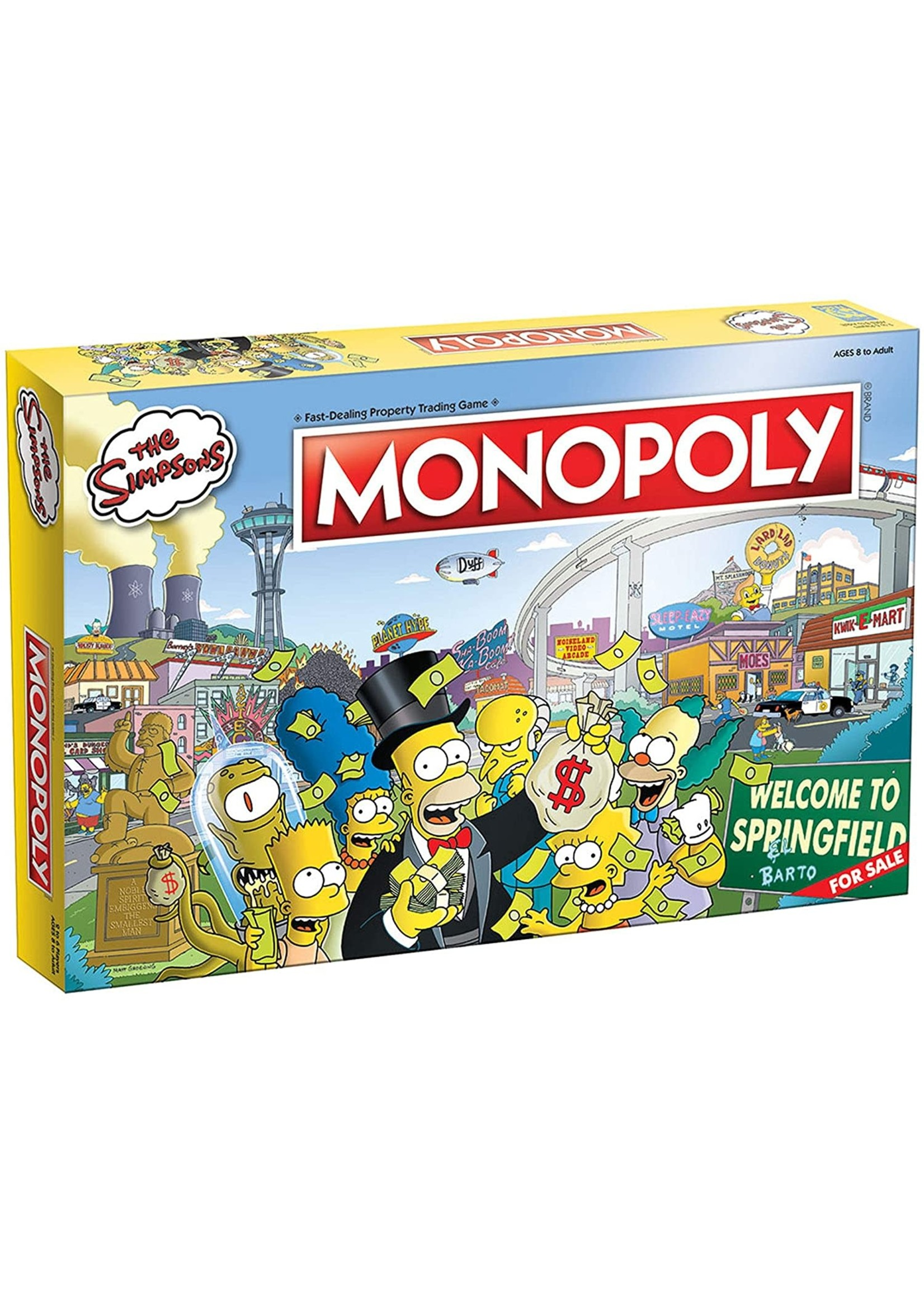 The OP Games Monopoly - The Simpsons