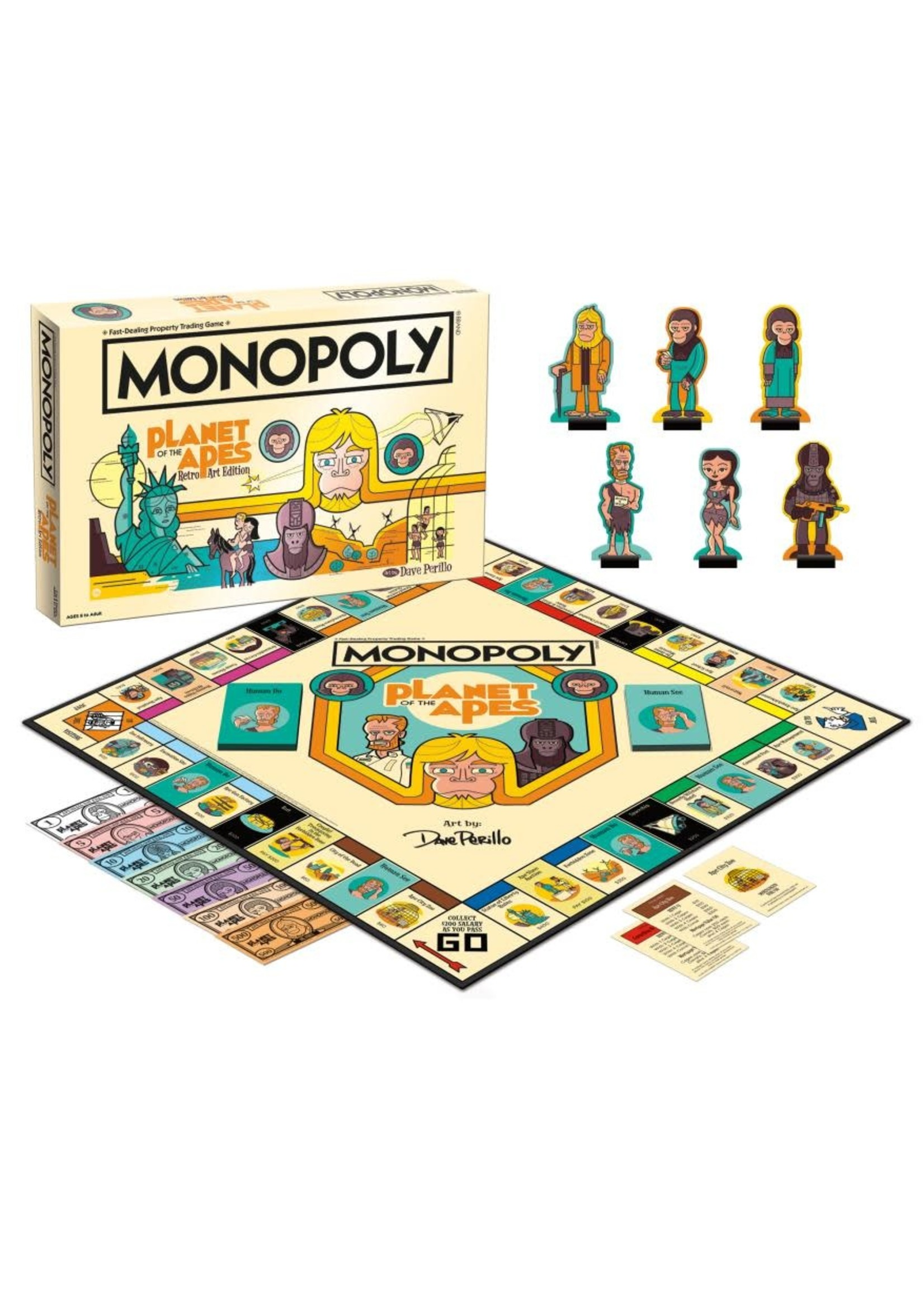 The OP Games Monopoly - Planet Of The Apes