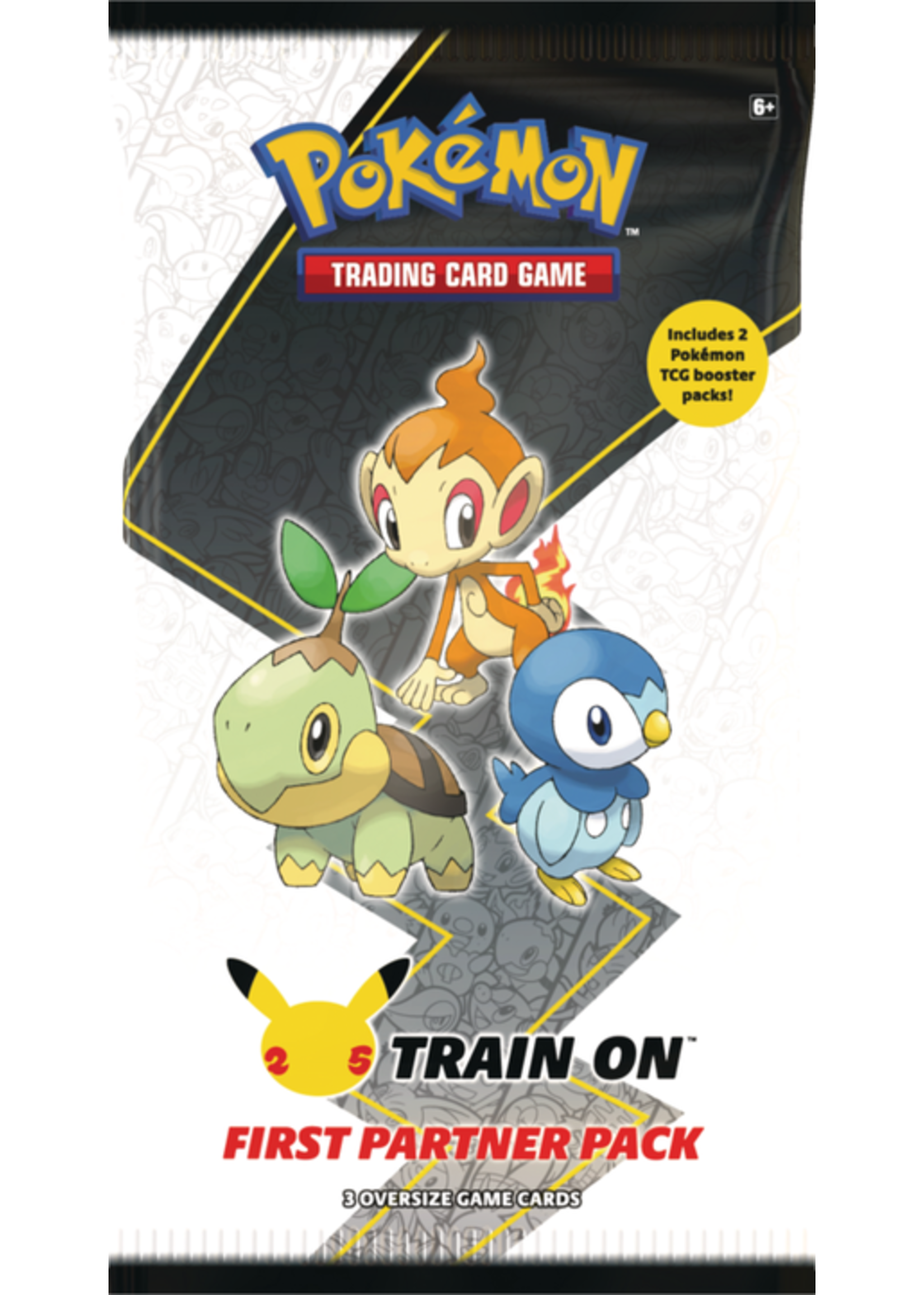 The Pokemon Company Pokemon First Partner Pack Sinnoh