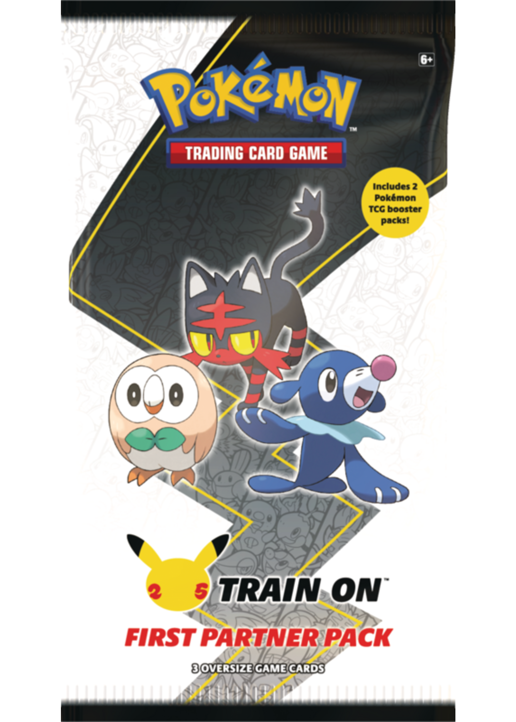 The Pokemon Company Pokemon First Partner Pack Alola