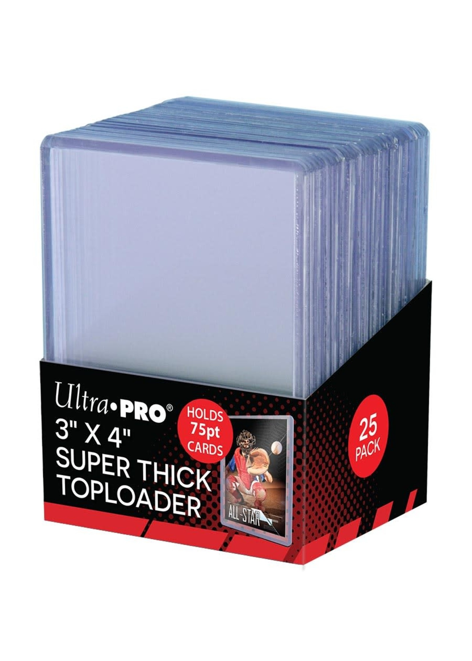 Ultra Pro TOPLOADS 3x4 75PT EXTRA THICK