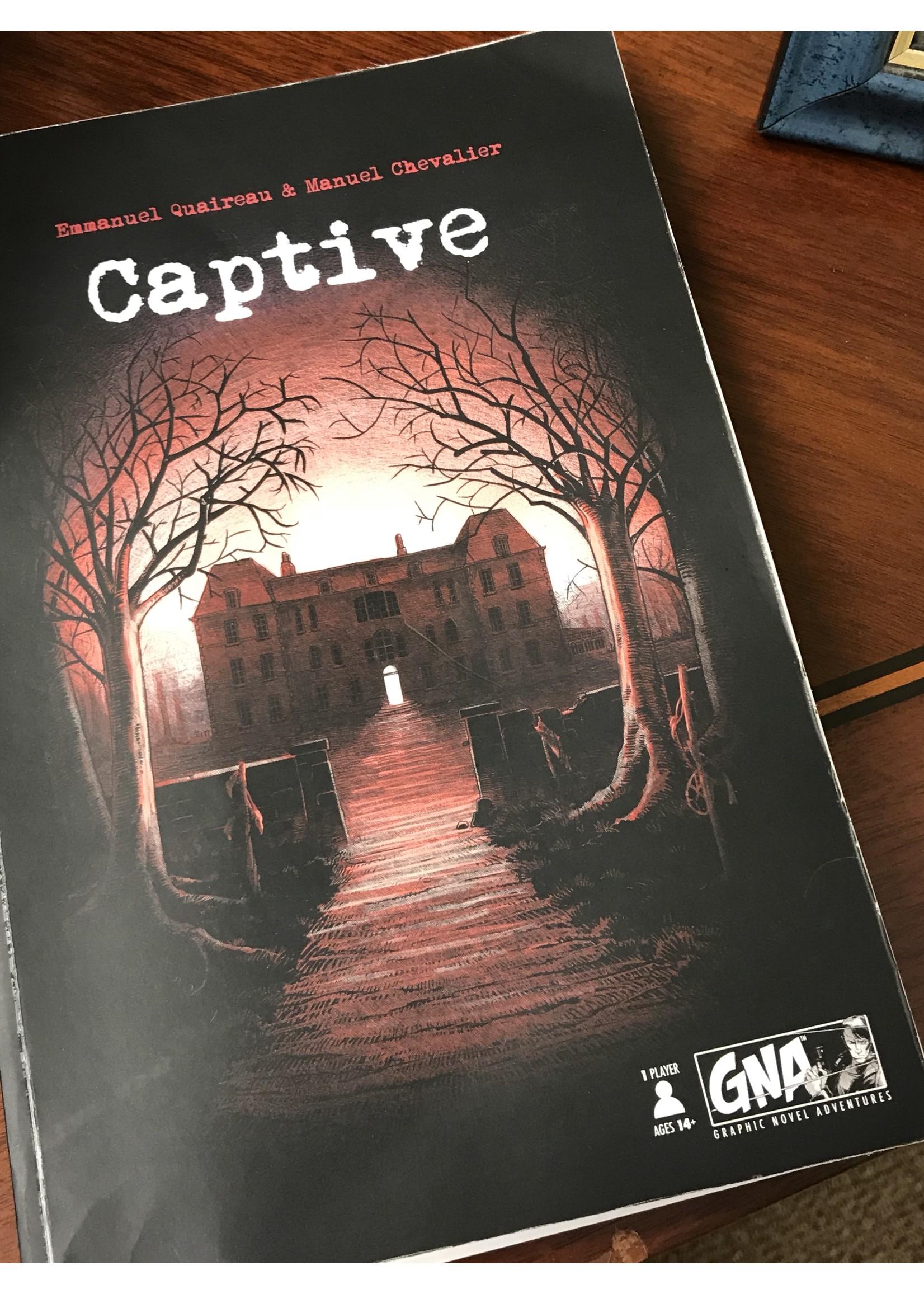 Captive - Graphic Novel Adventure